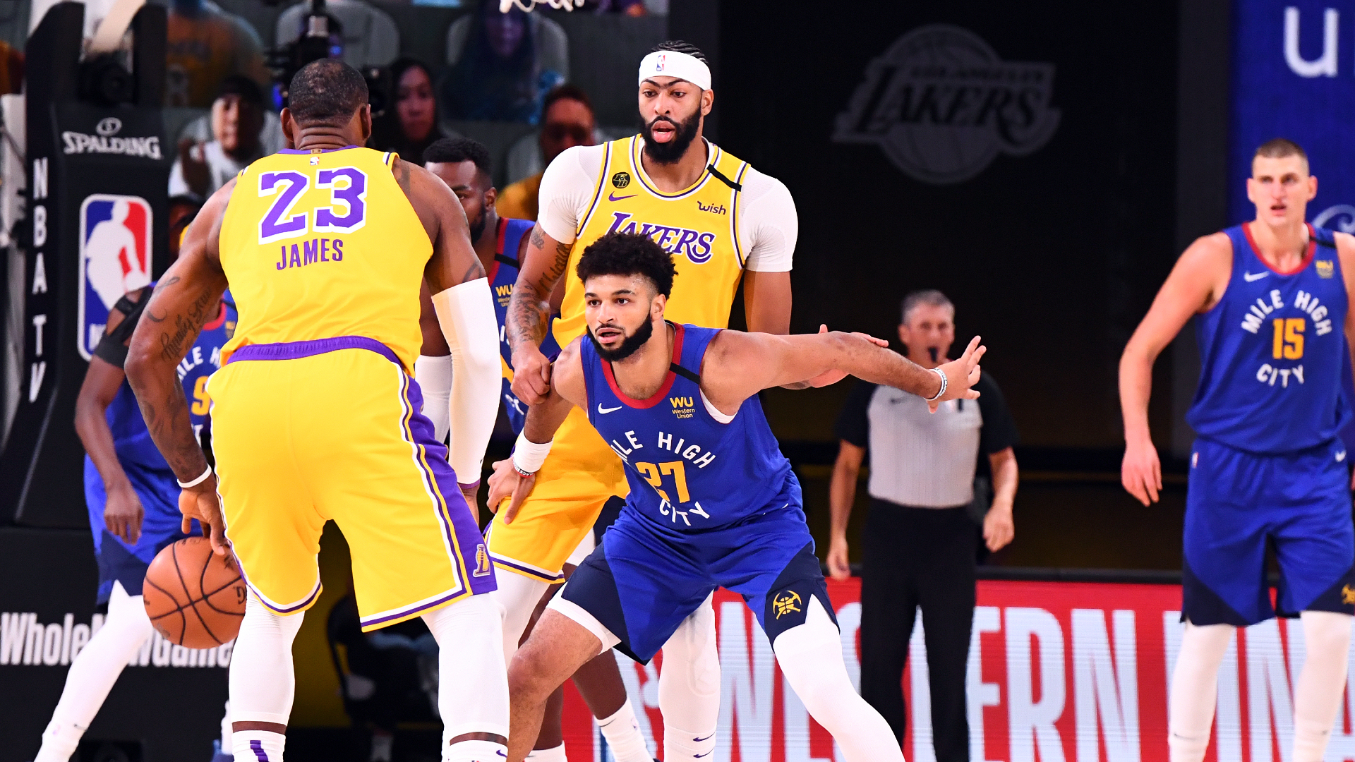 Lakers Jump Out To 1-0 Series Lead With Big Performance From Davis
