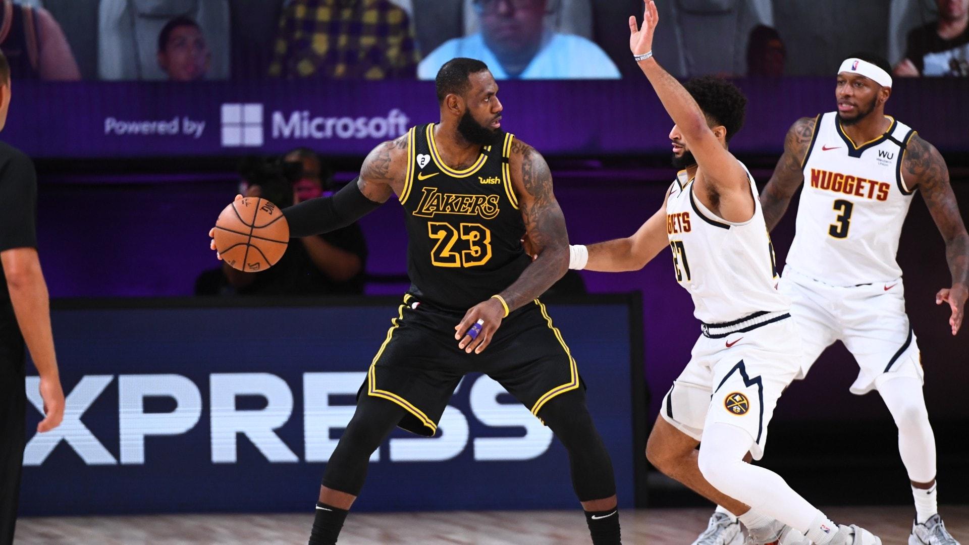 Lakers Edge Nuggets, Take 2-0 Lead