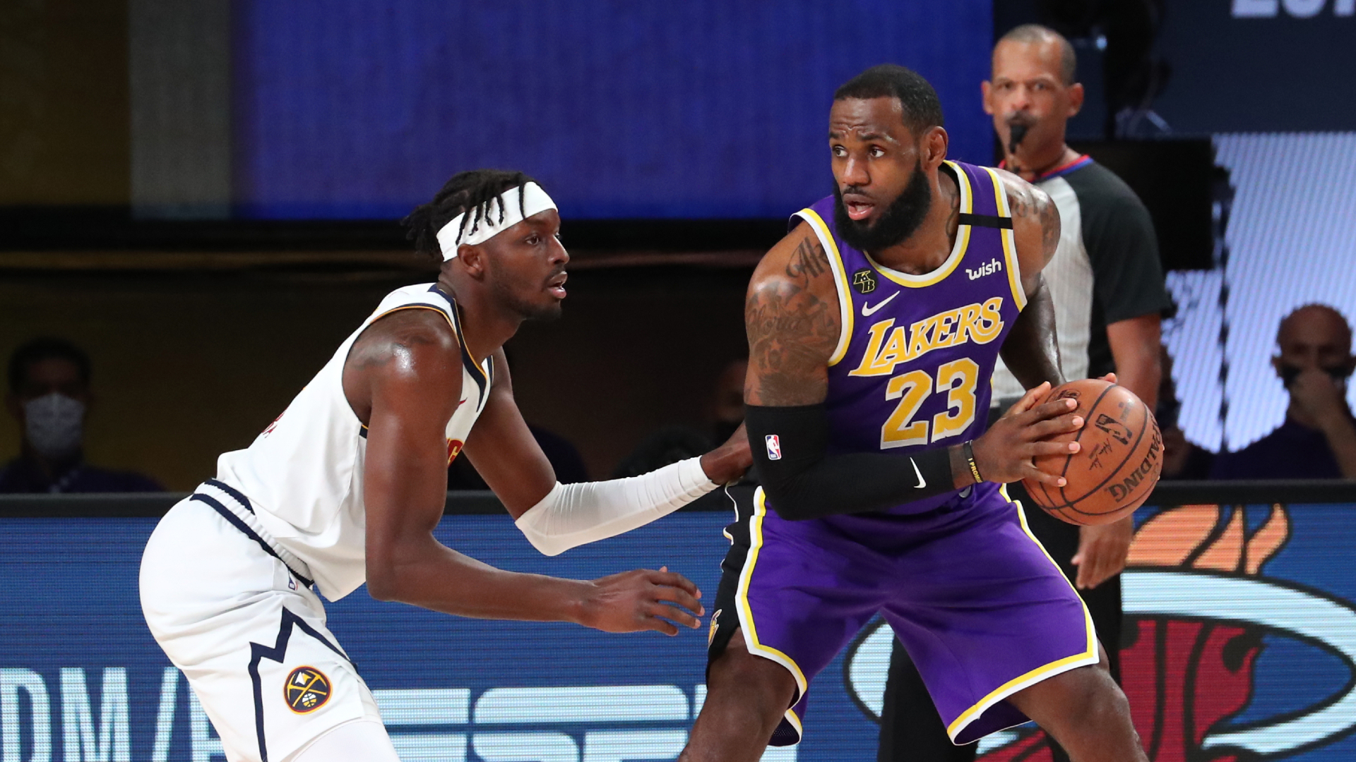Lakers Close Out Series In Game 5