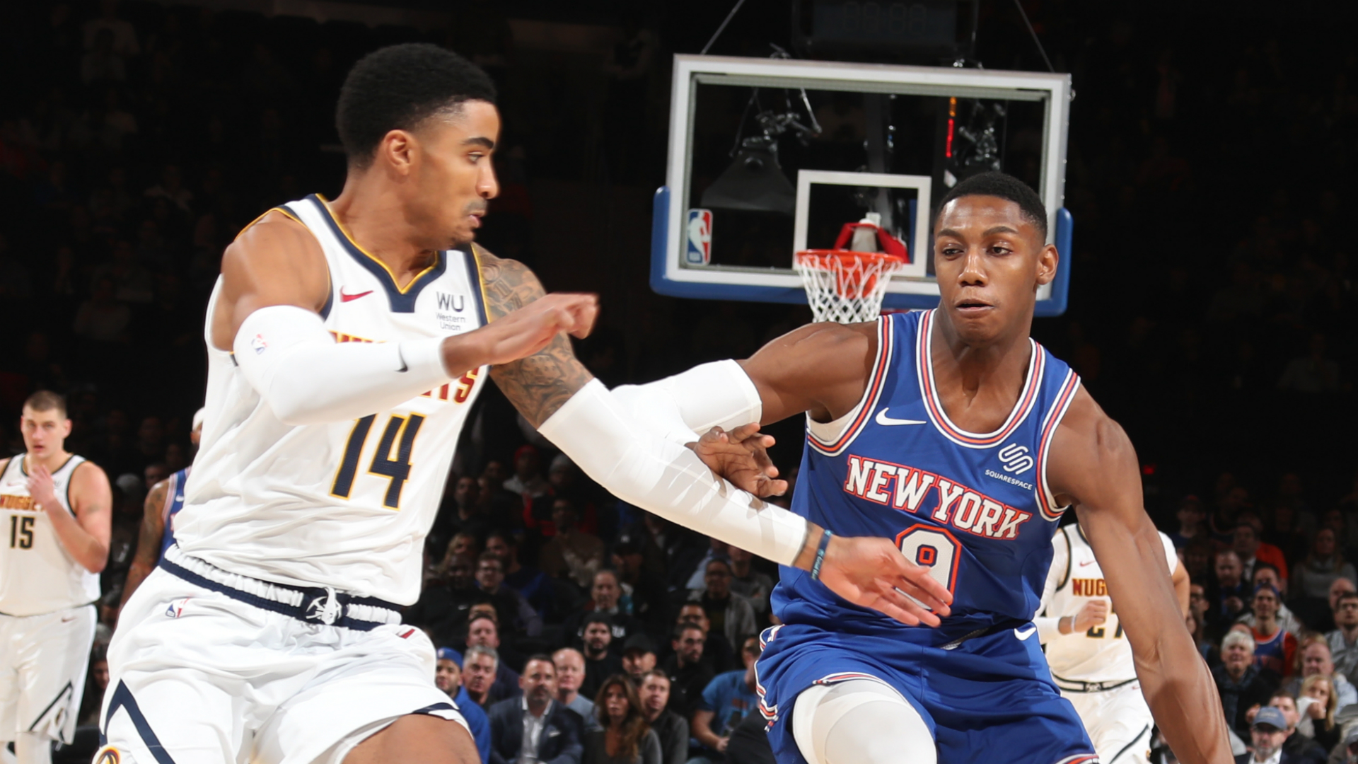 Nuggets @ Knicks