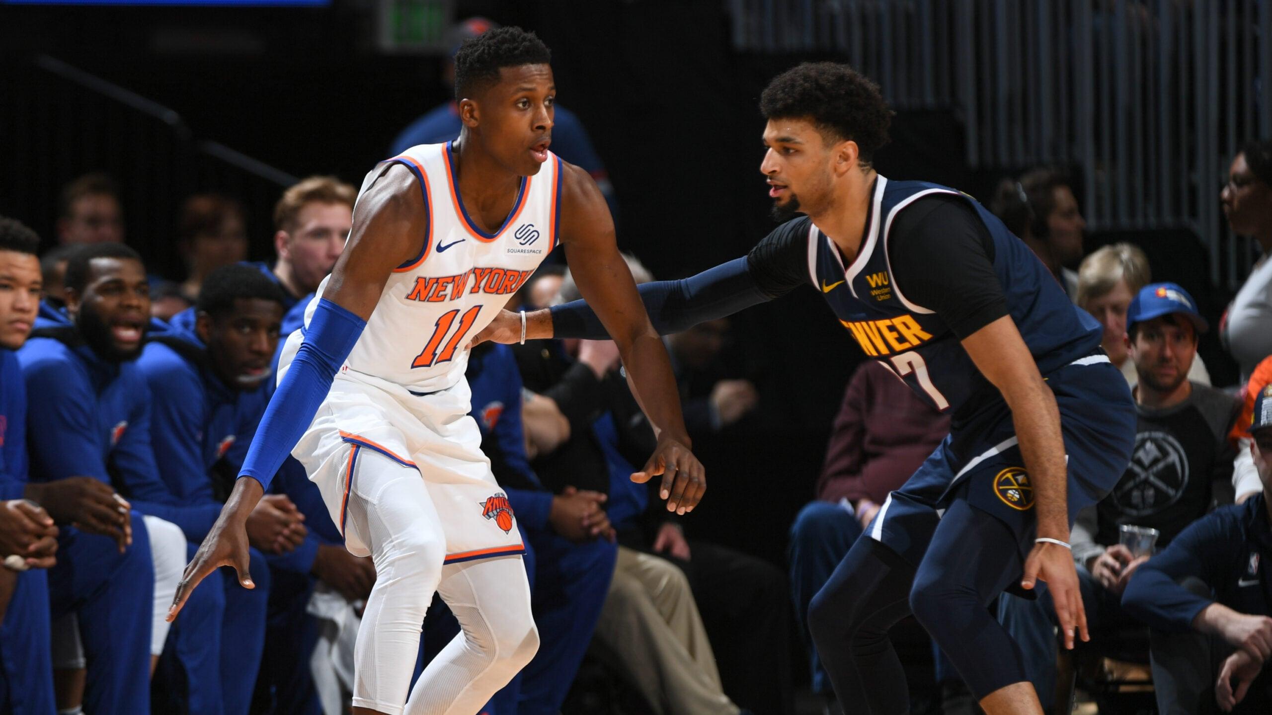 Knicks @ Nuggets