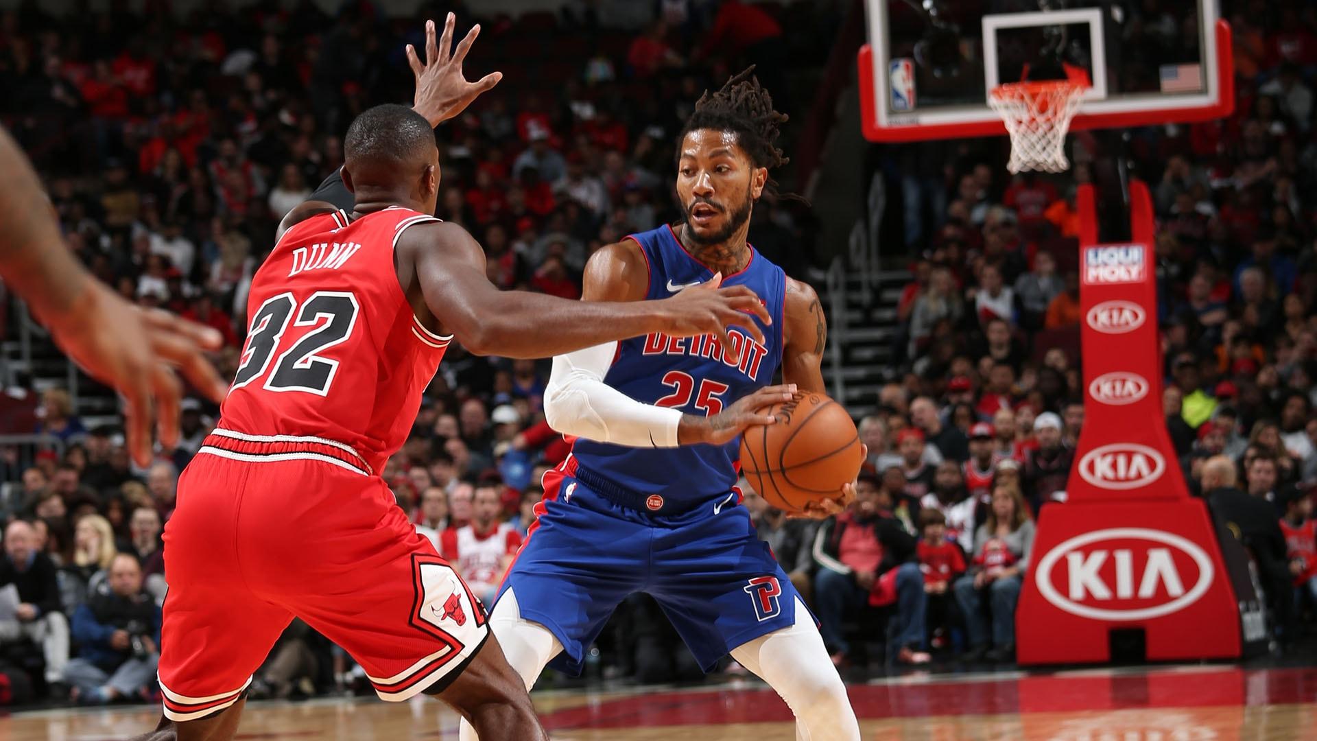 Pistons @ Bulls