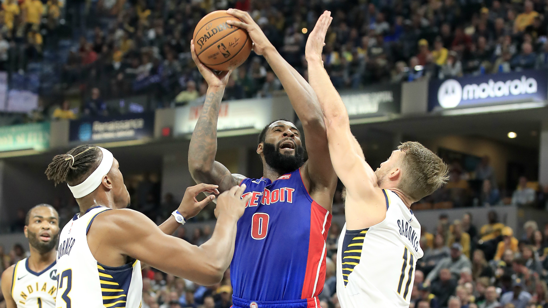 Pistons @ Pacers