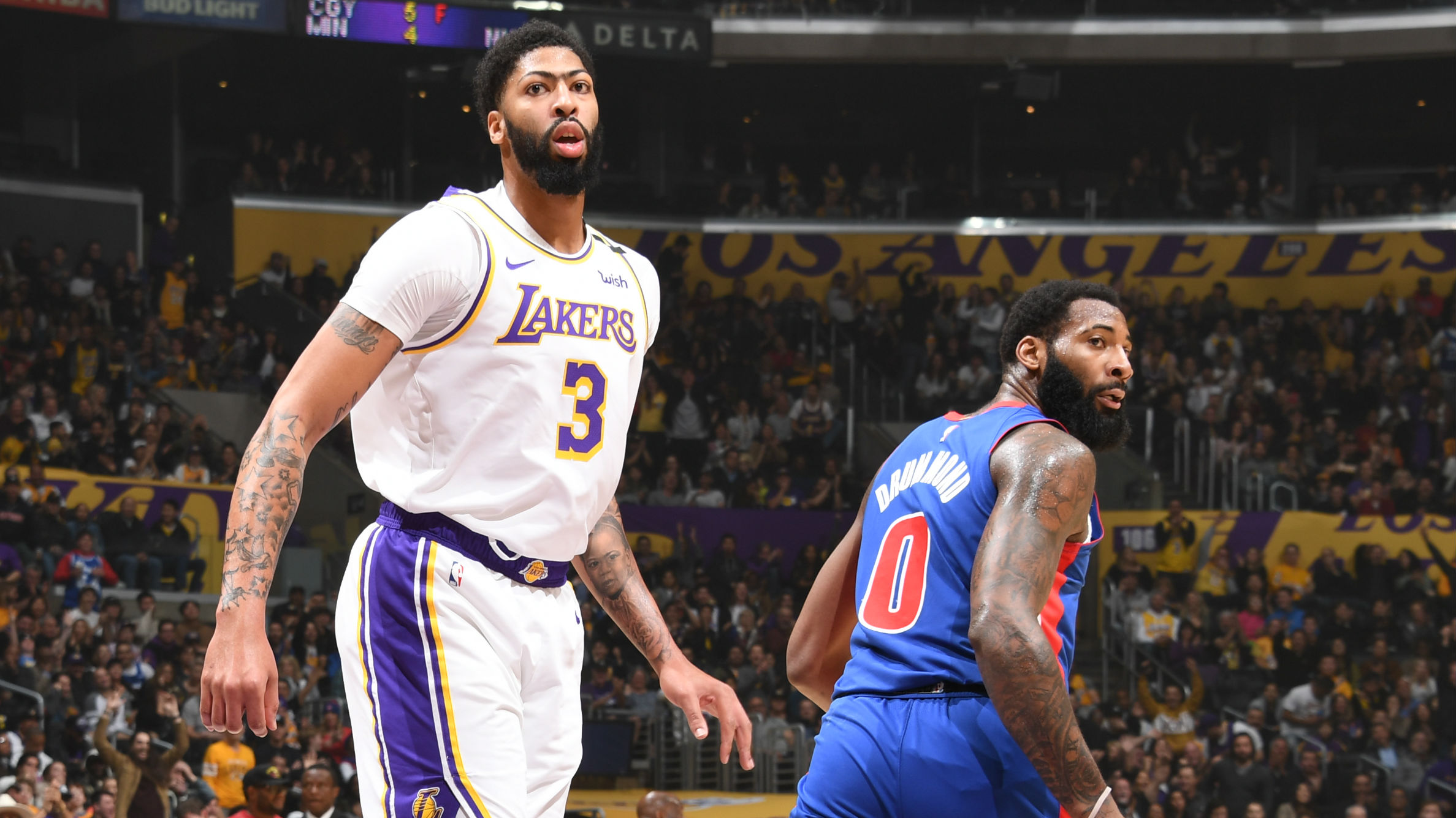 Pistons @ Lakers