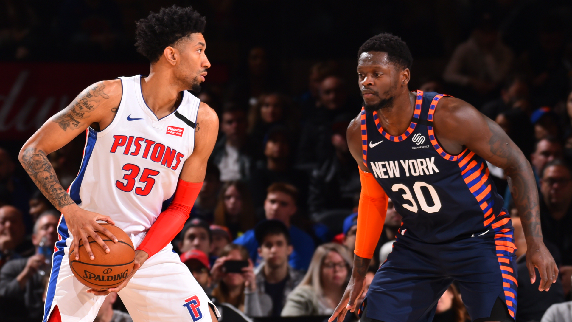 Pistons @ Knicks
