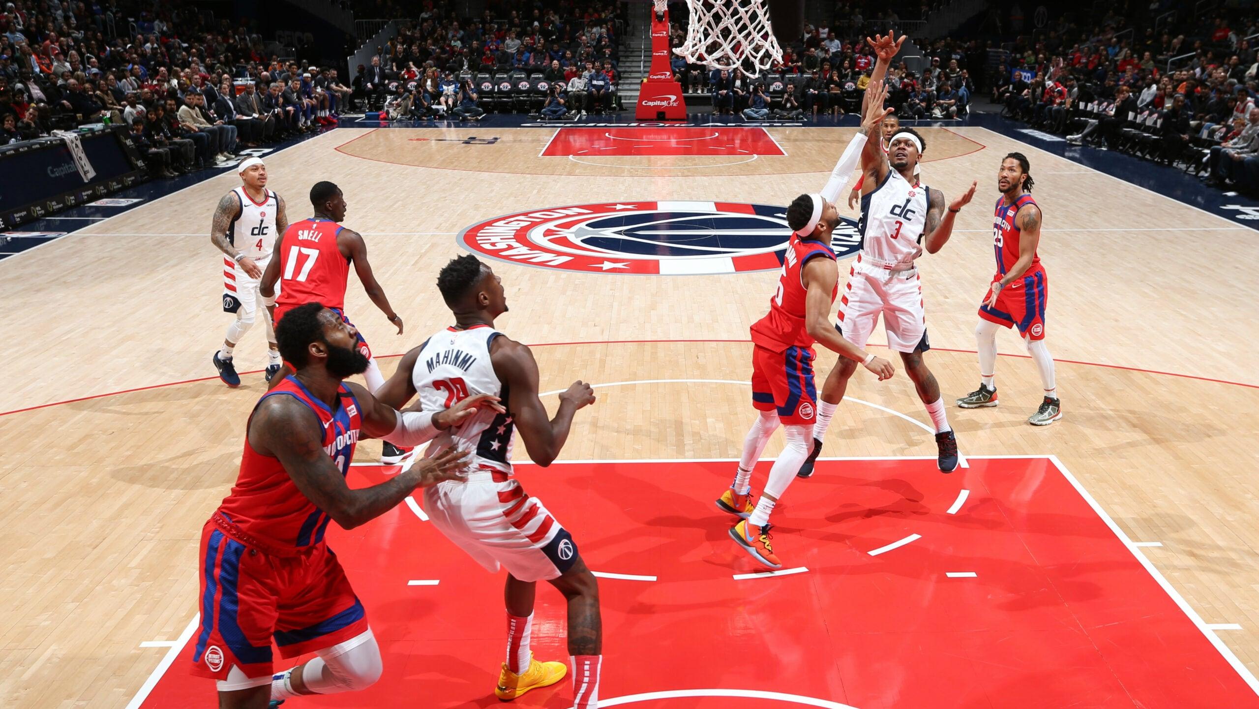 Pistons @ Wizards
