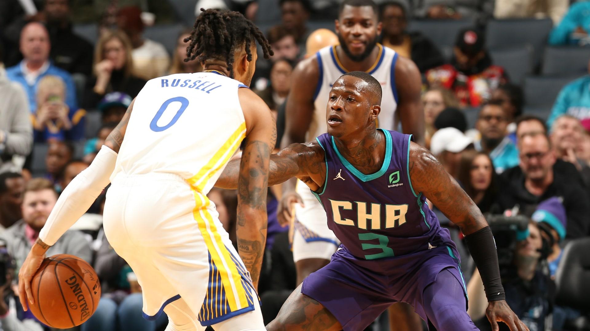 Warriors @ Hornets