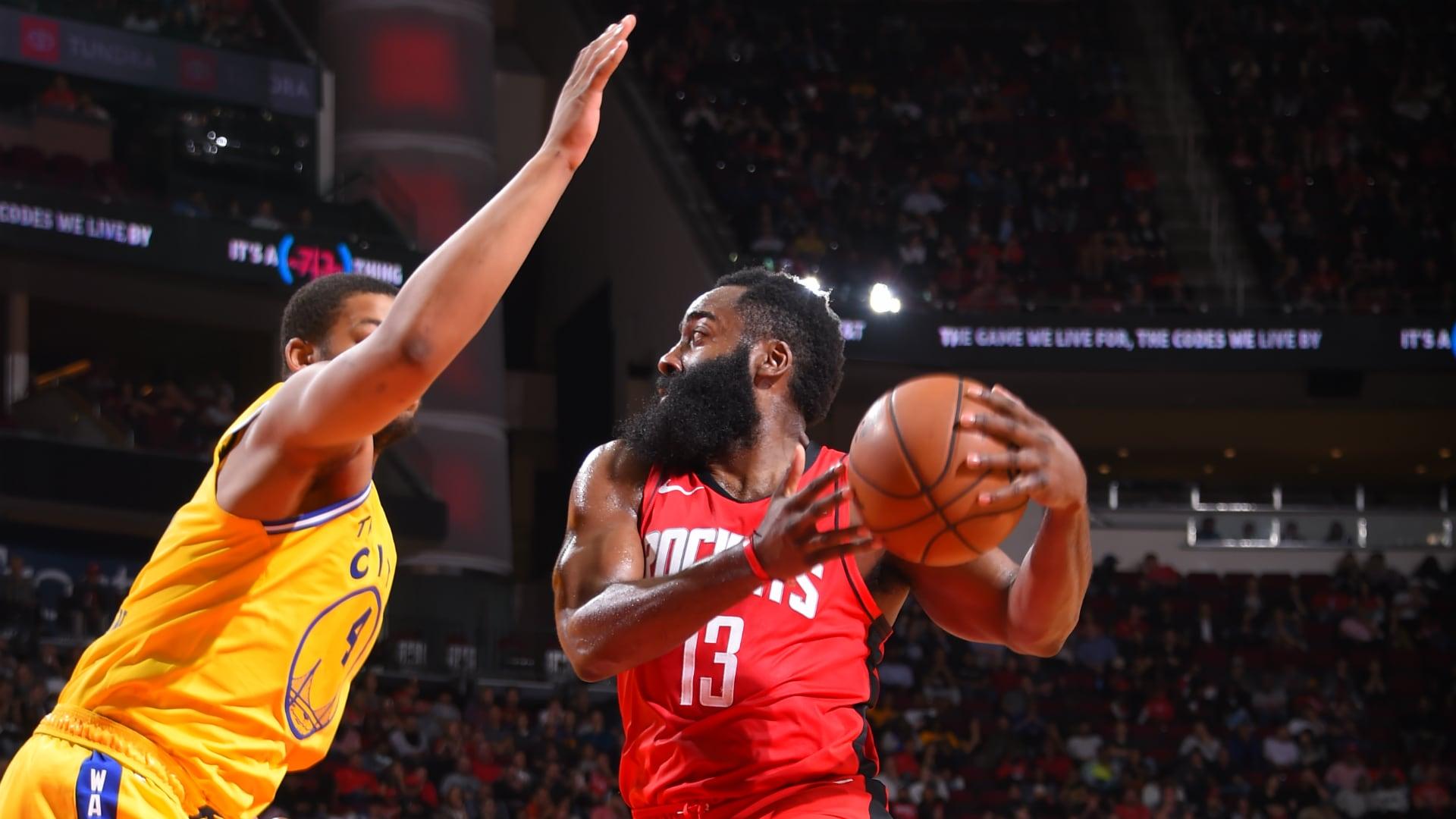 Warriors @ Rockets