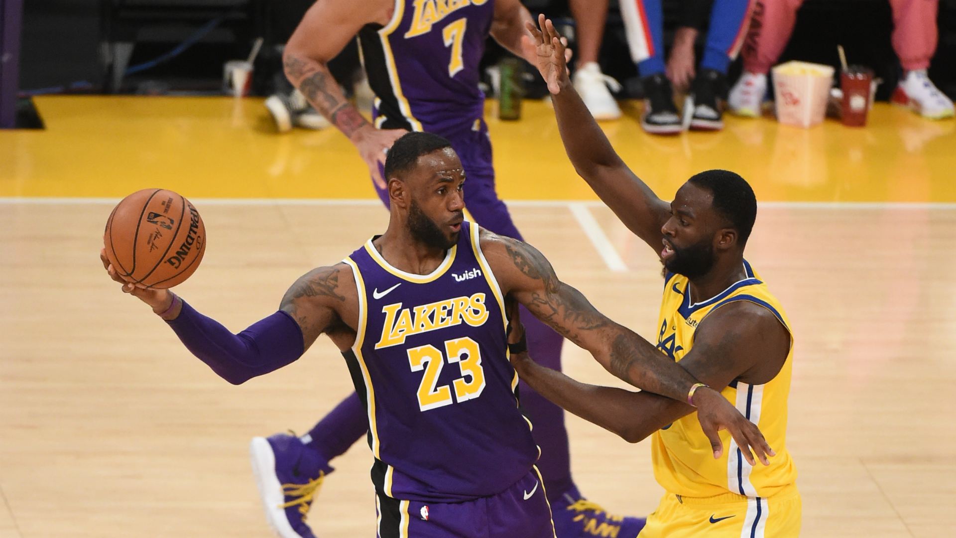 Warriors @ Lakers