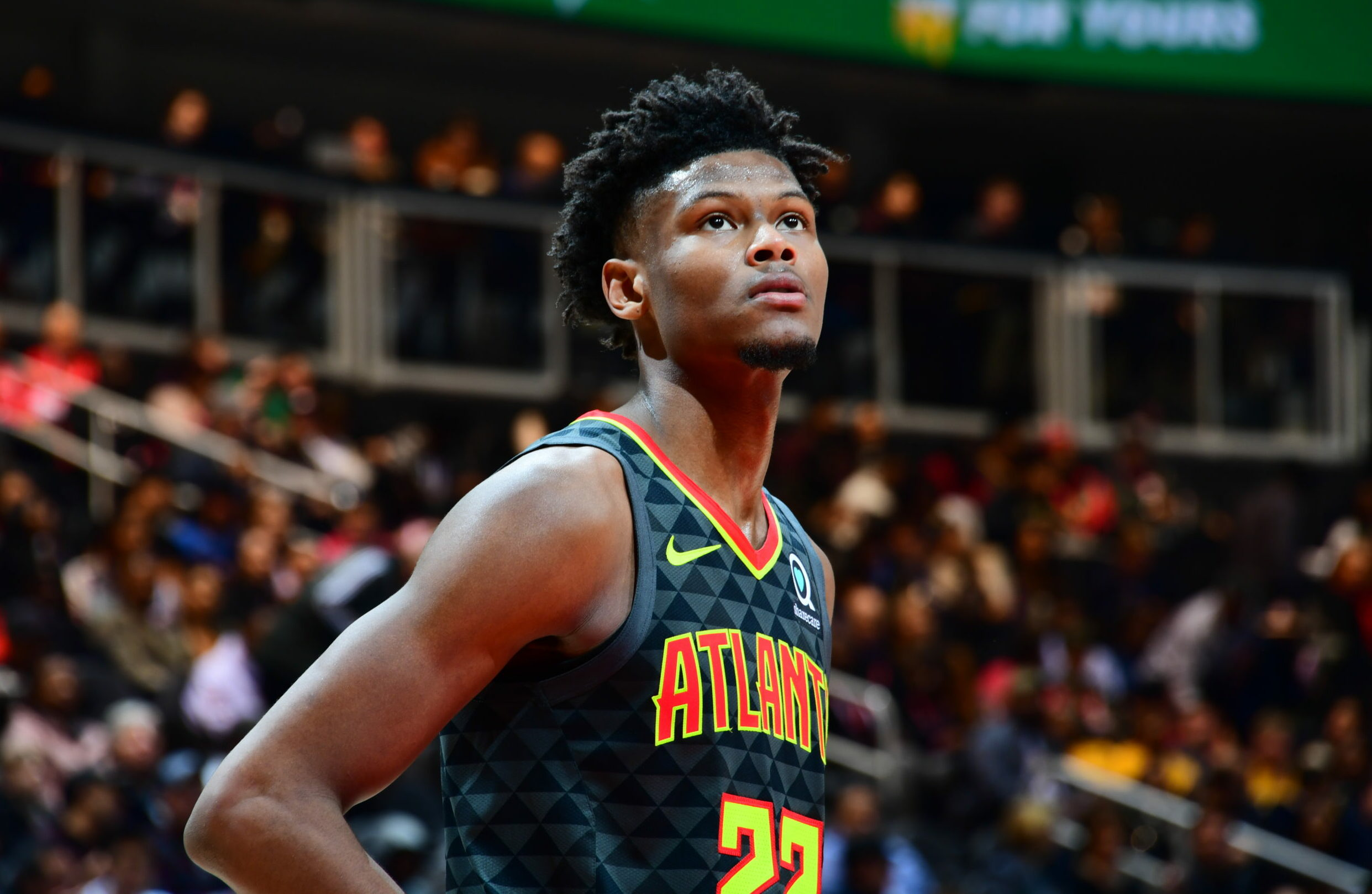 Q&A: Hawks' Cam Reddish on voting at State Farm Arena, anticipation for 2020-21 season