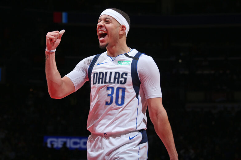 The Q A Seth Curry Talks Luka Steph S Return And Playing On The League S Best Offense Nba Com
