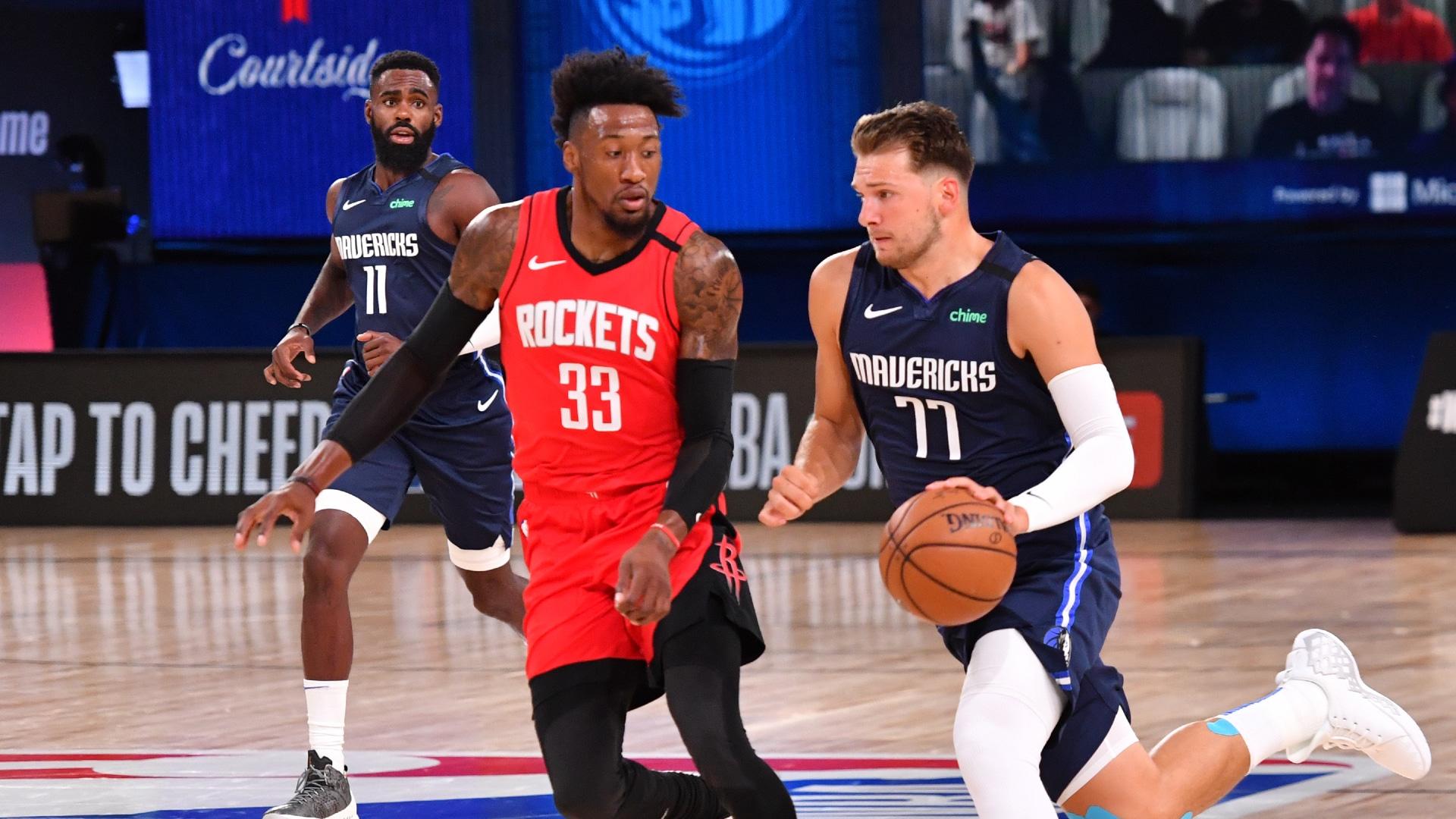 Rockets @ Mavericks