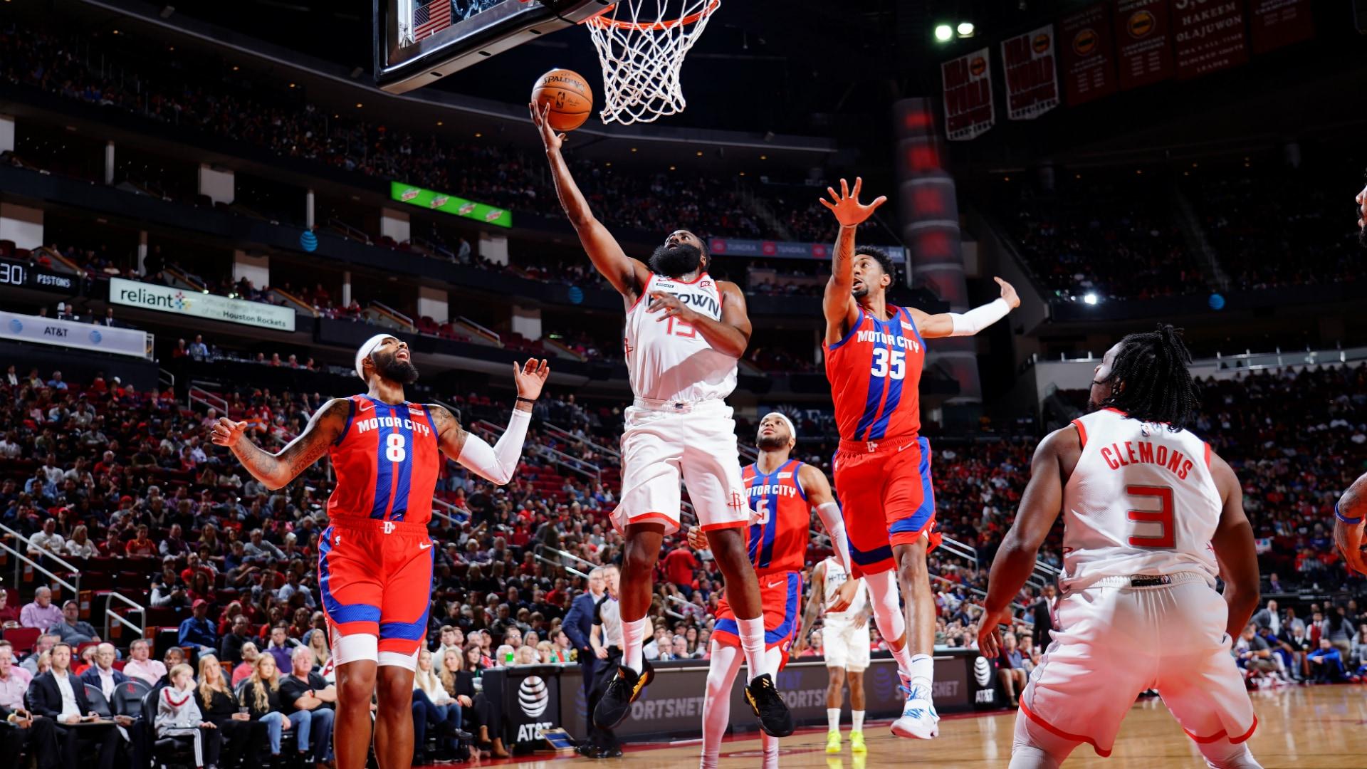 Pistons @ Rockets