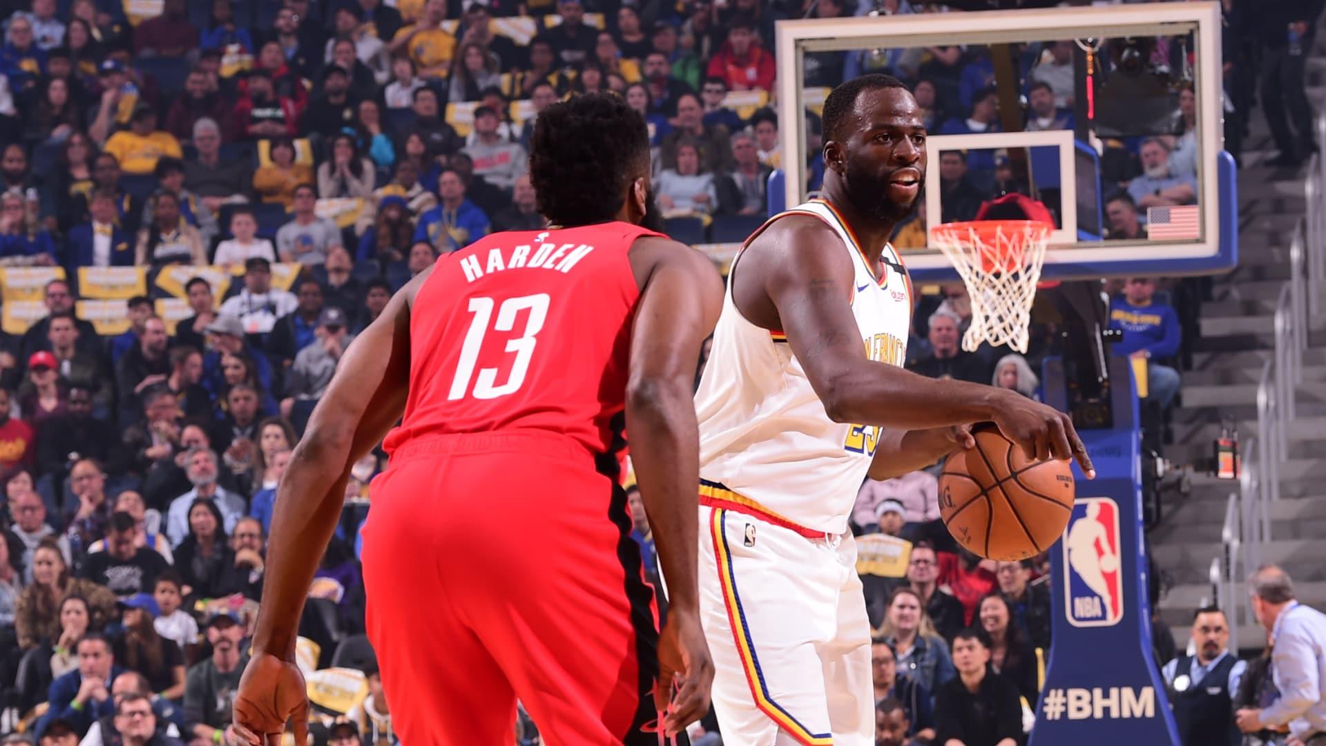 Rockets @ Warriors