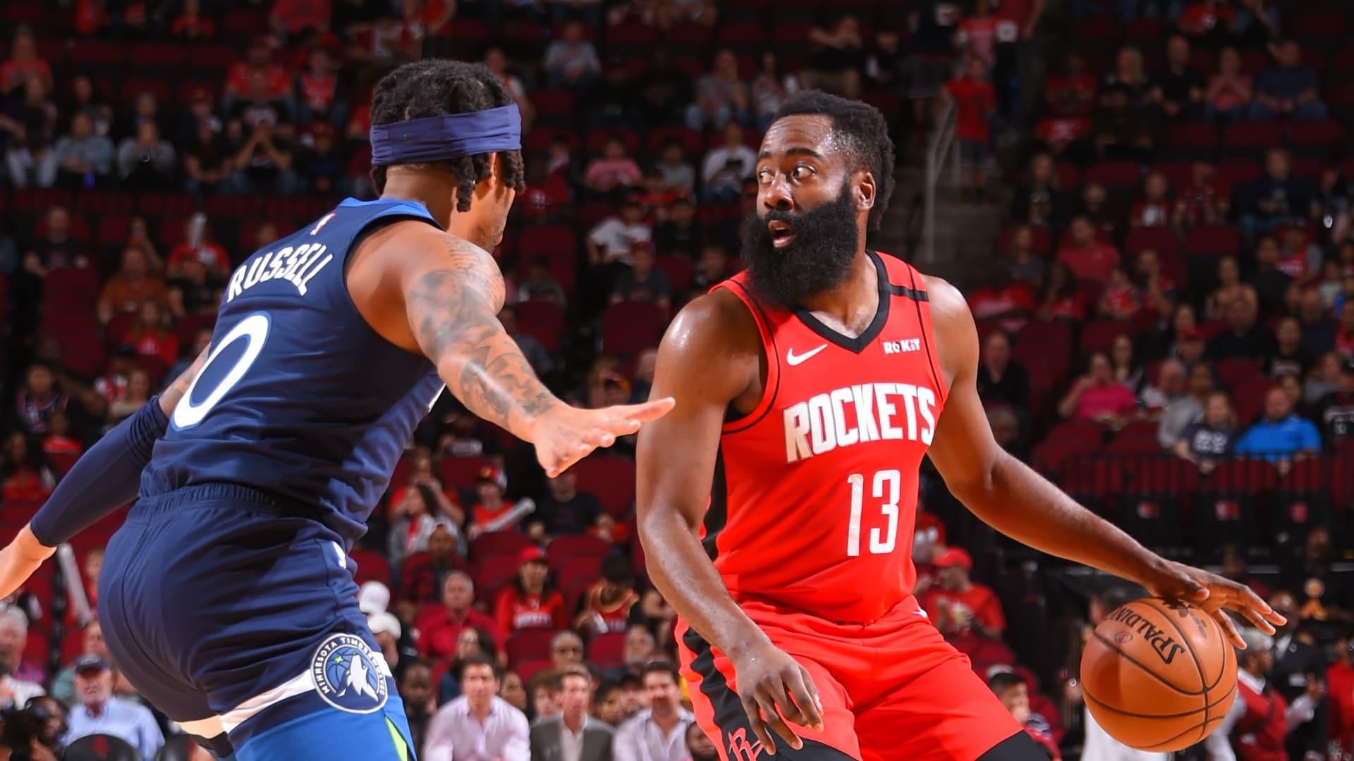 Timberwolves @ Rockets