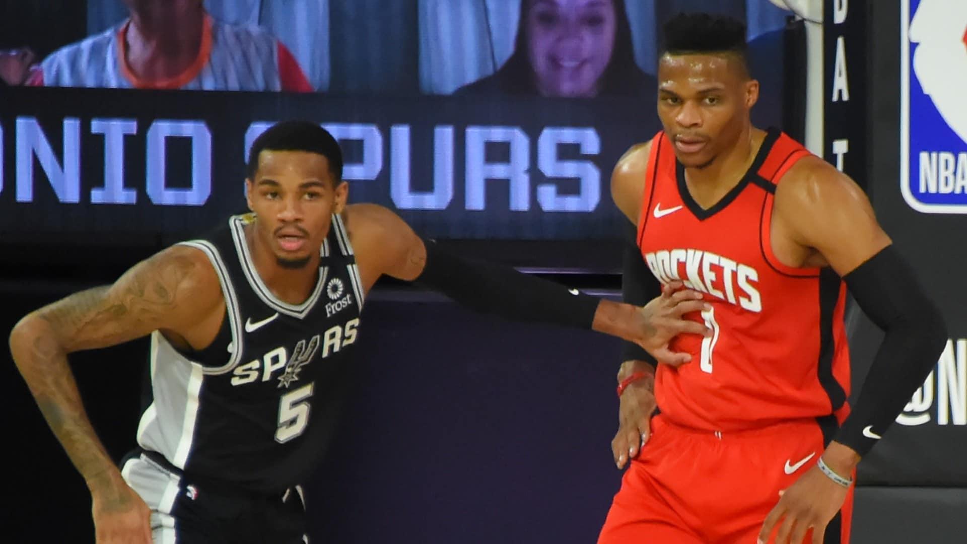 Rockets @ Spurs