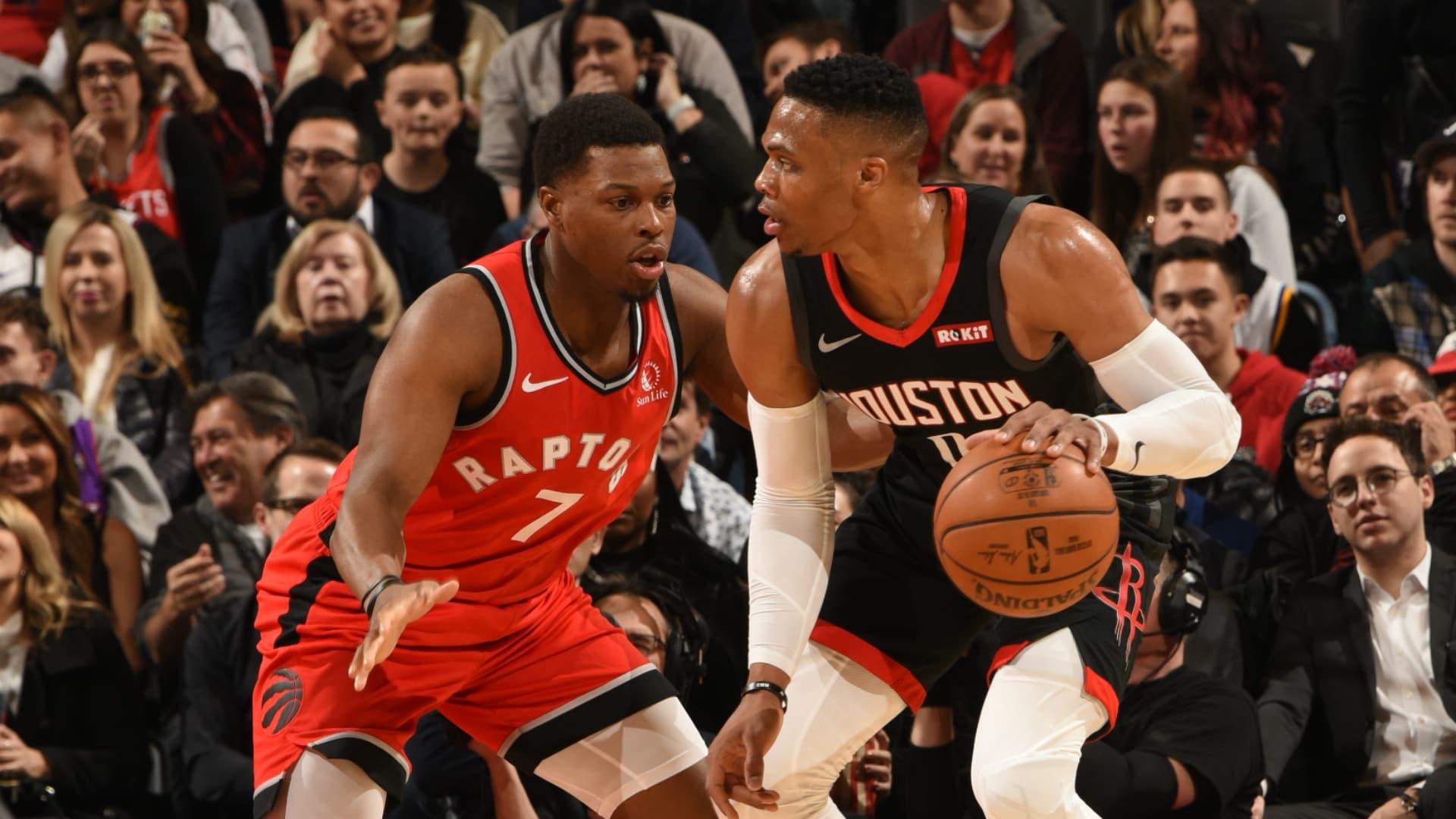 Rockets @ Raptors