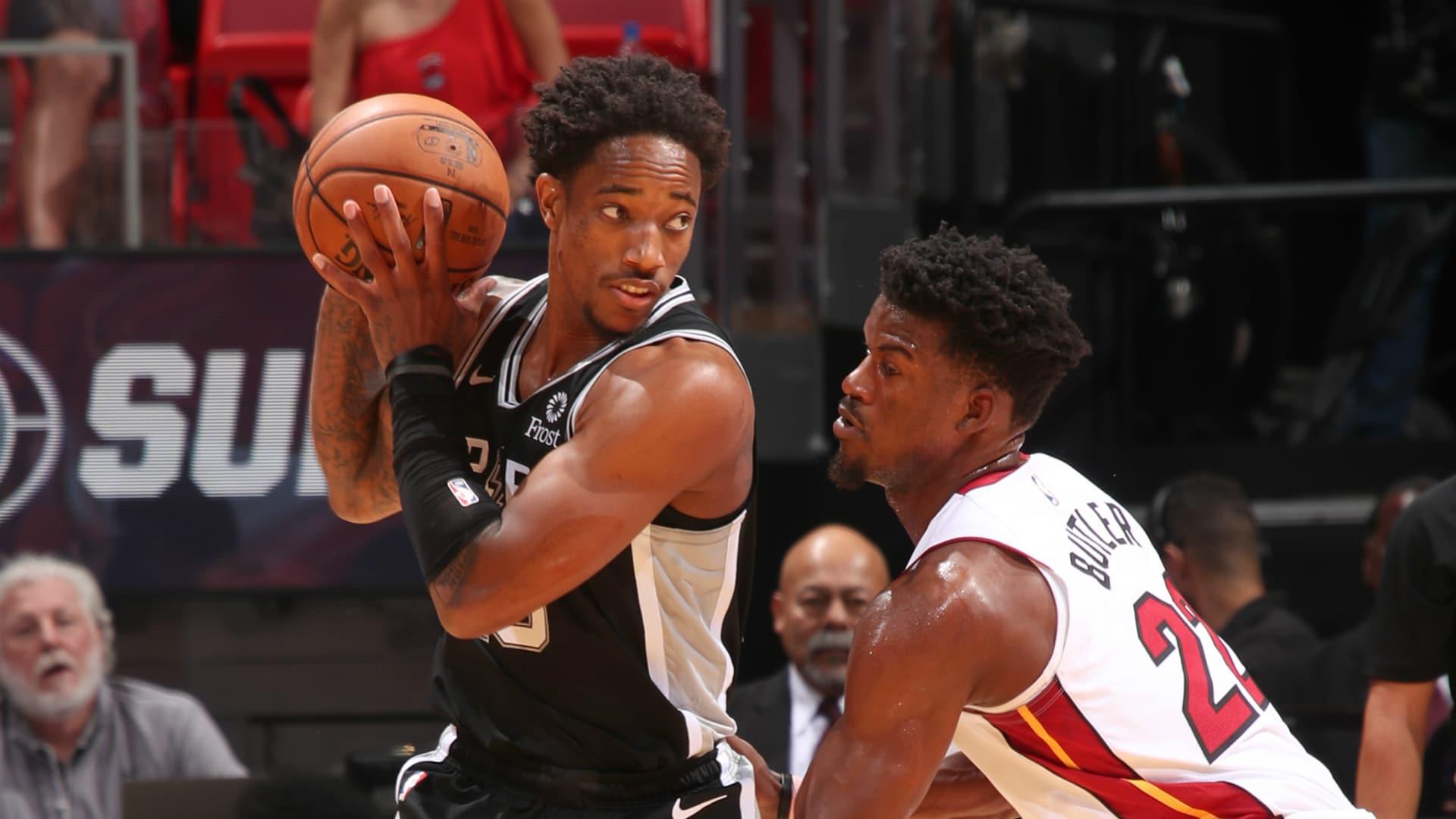 Spurs @ Heat