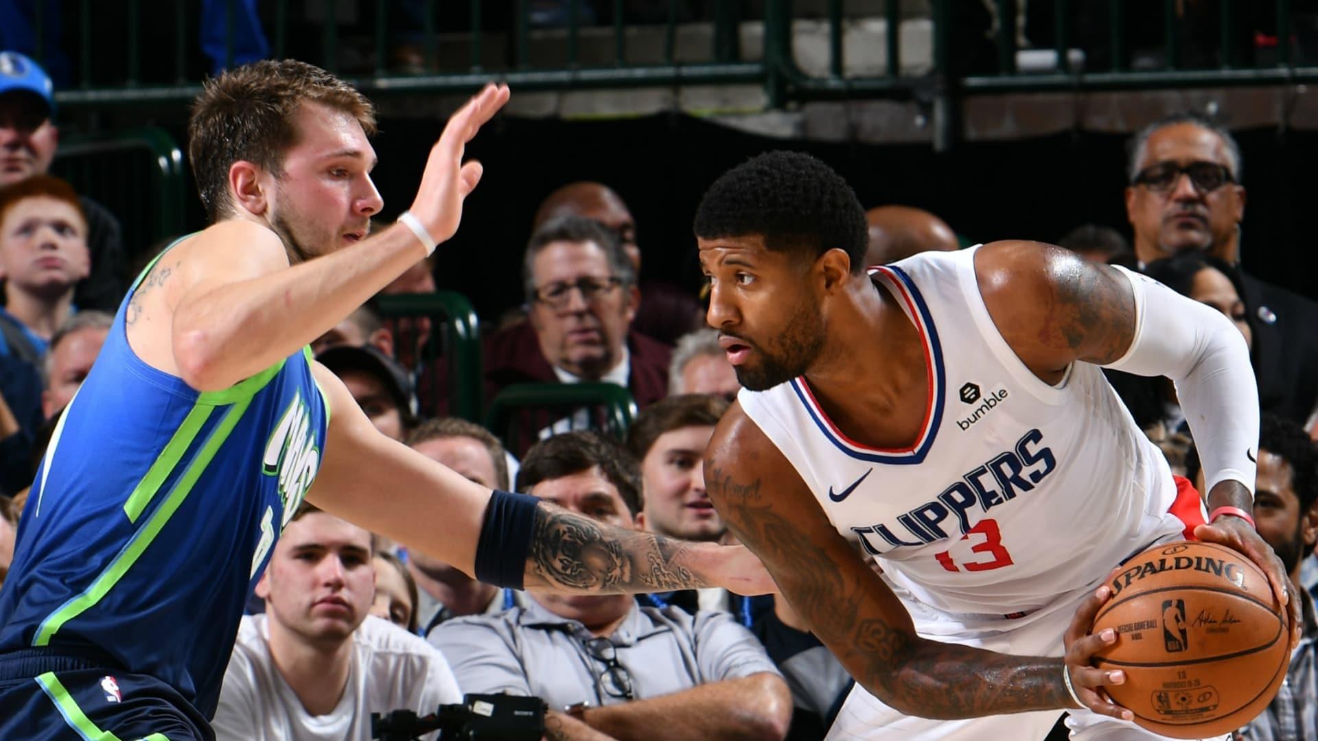 Clippers @ Mavericks