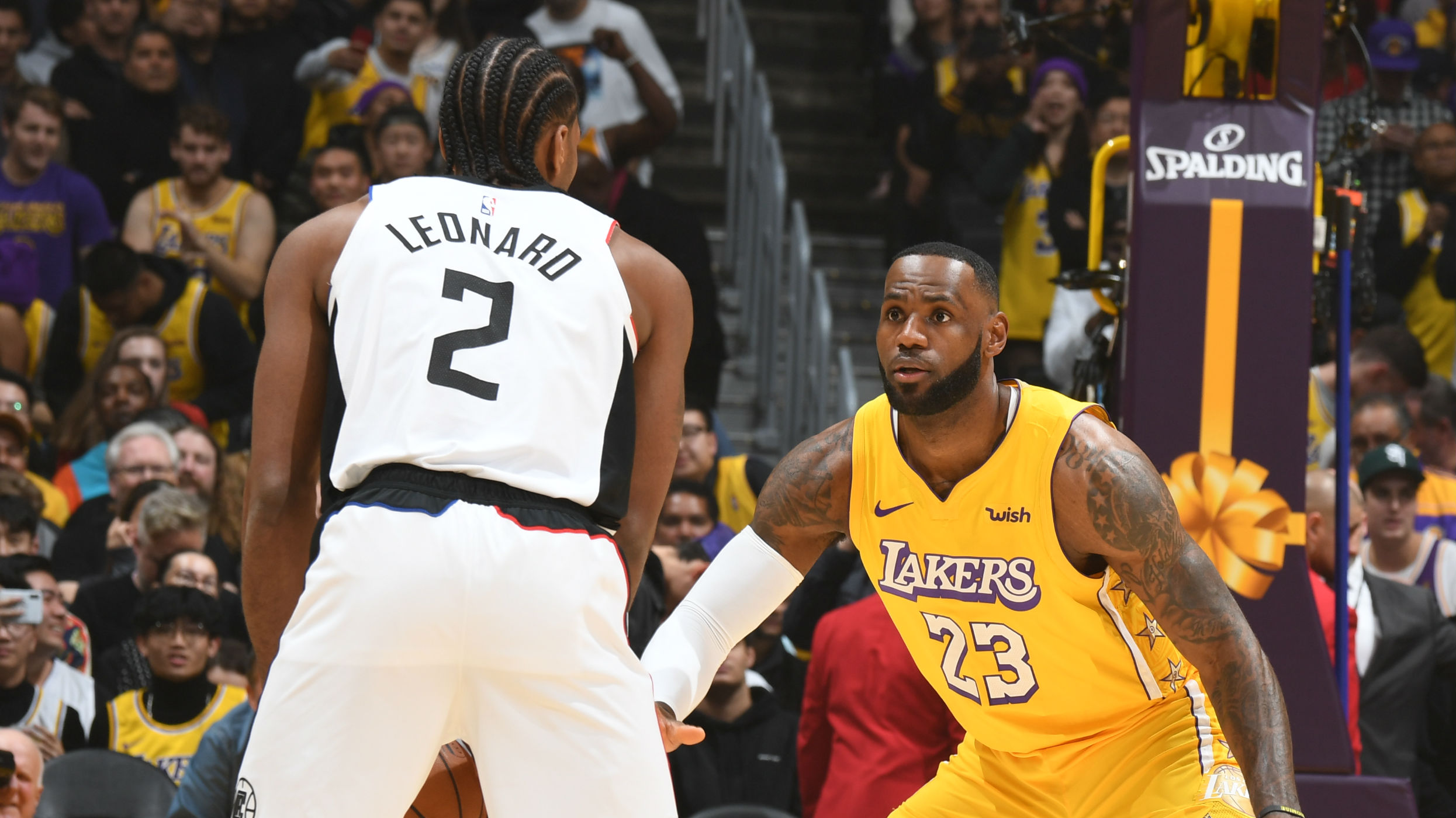 Lakers & Clippers Face Off On Christmas Day