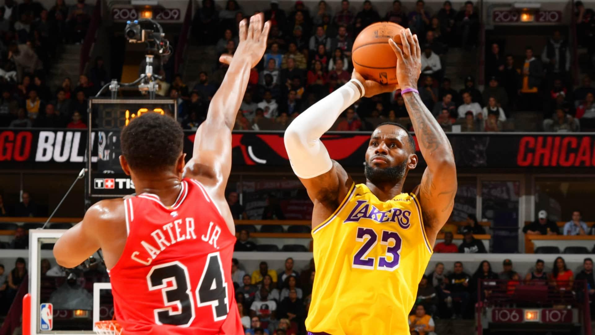Lakers @ Bulls