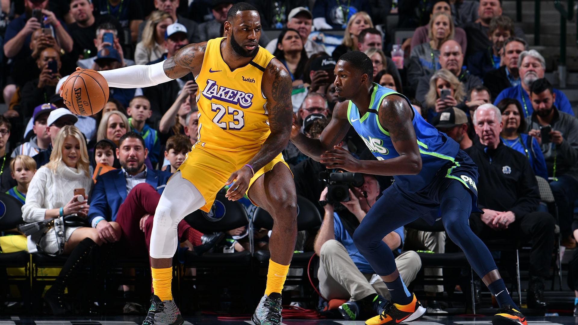 Lakers @ Mavericks
