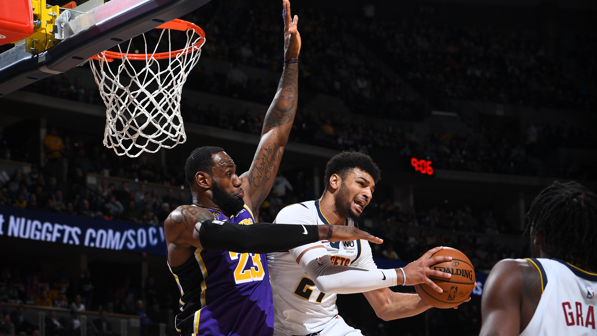 Lakers @ Nuggets