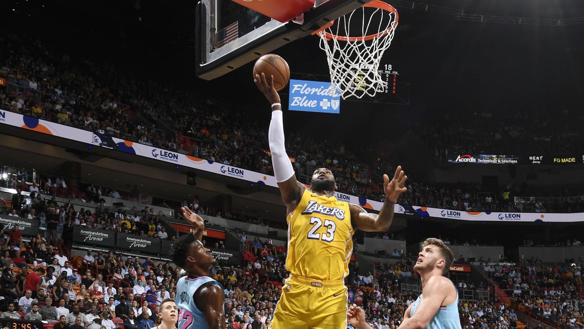 Lakers @ Heat
