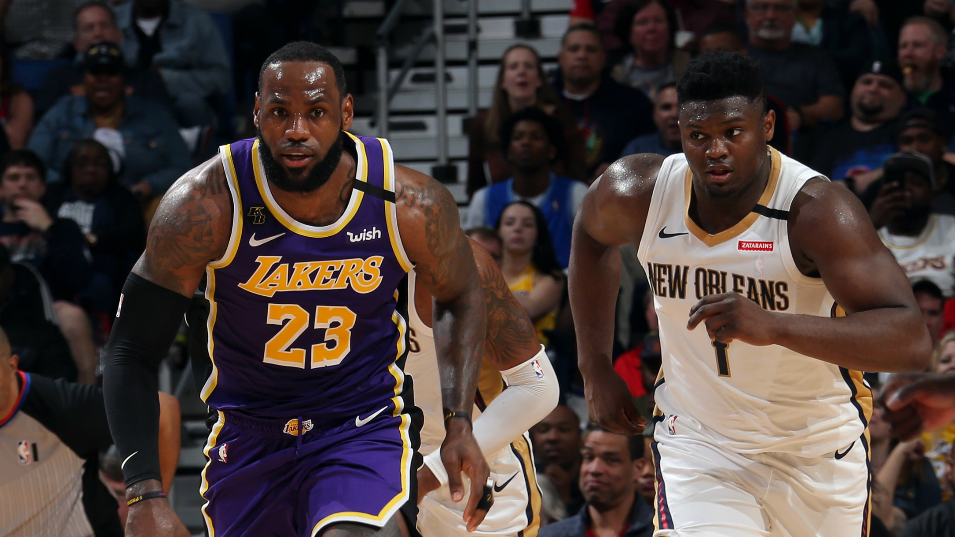 Lakers @ Pelicans