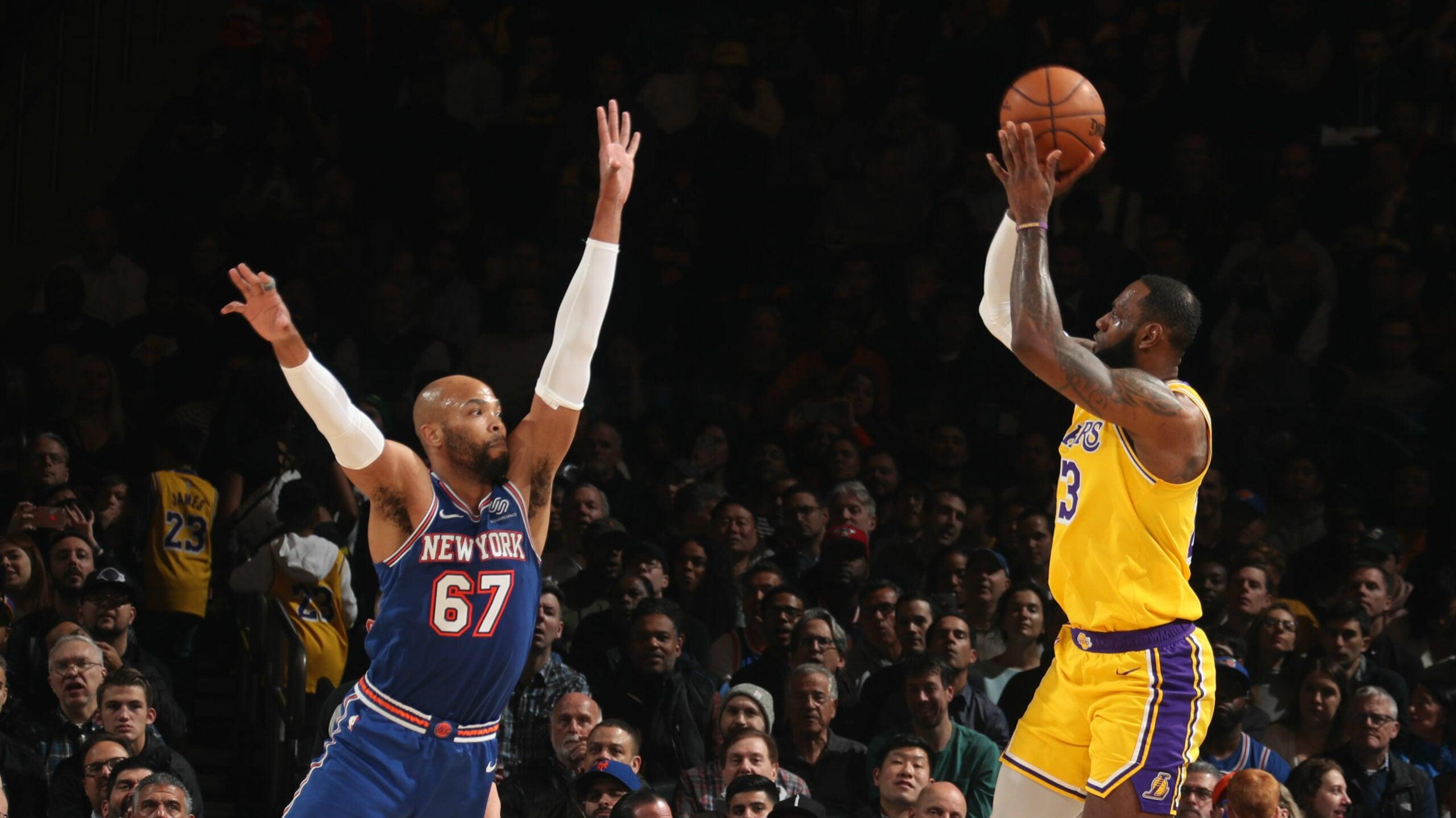 Lakers @ Knicks