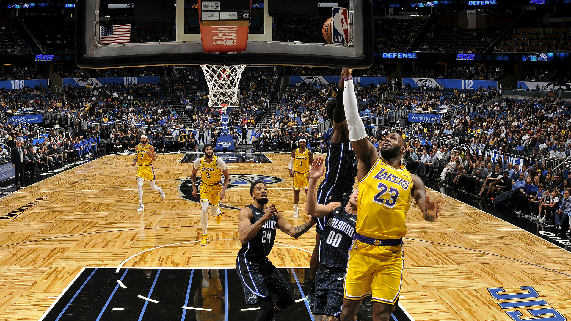 Lakers @ Magic