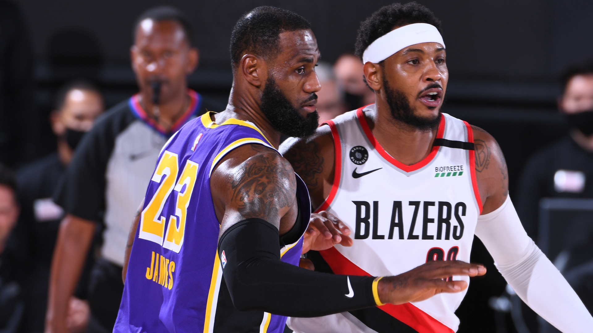 Lakers @ Trail Blazers