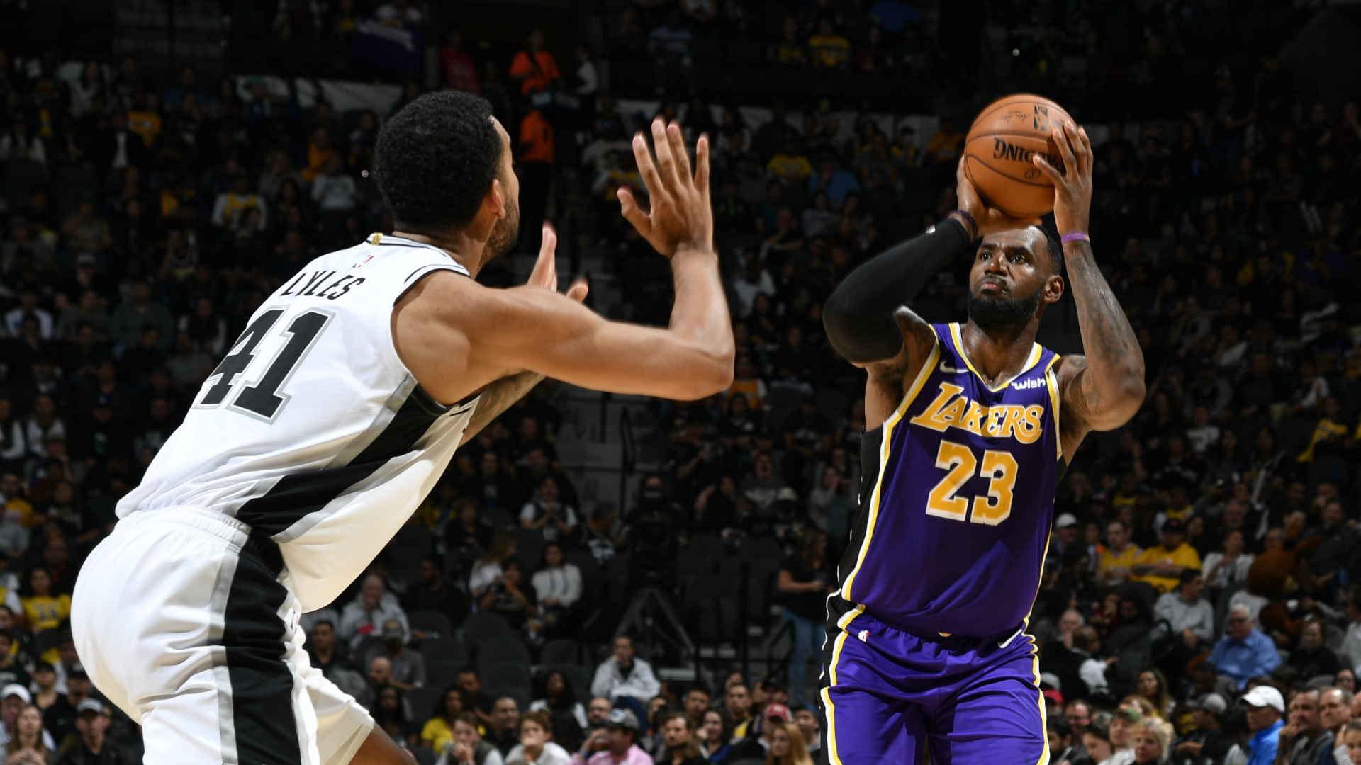 Lakers @ Spurs