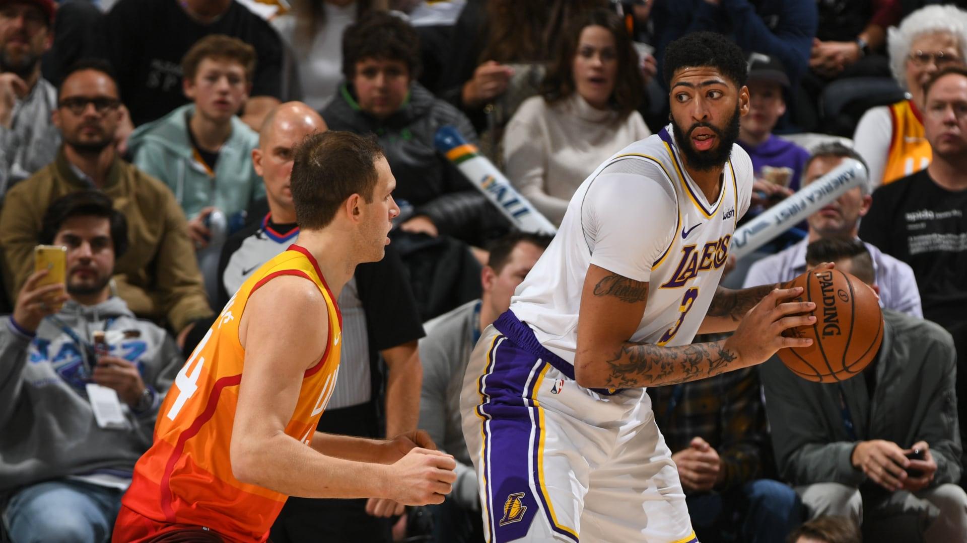 Lakers @ Jazz