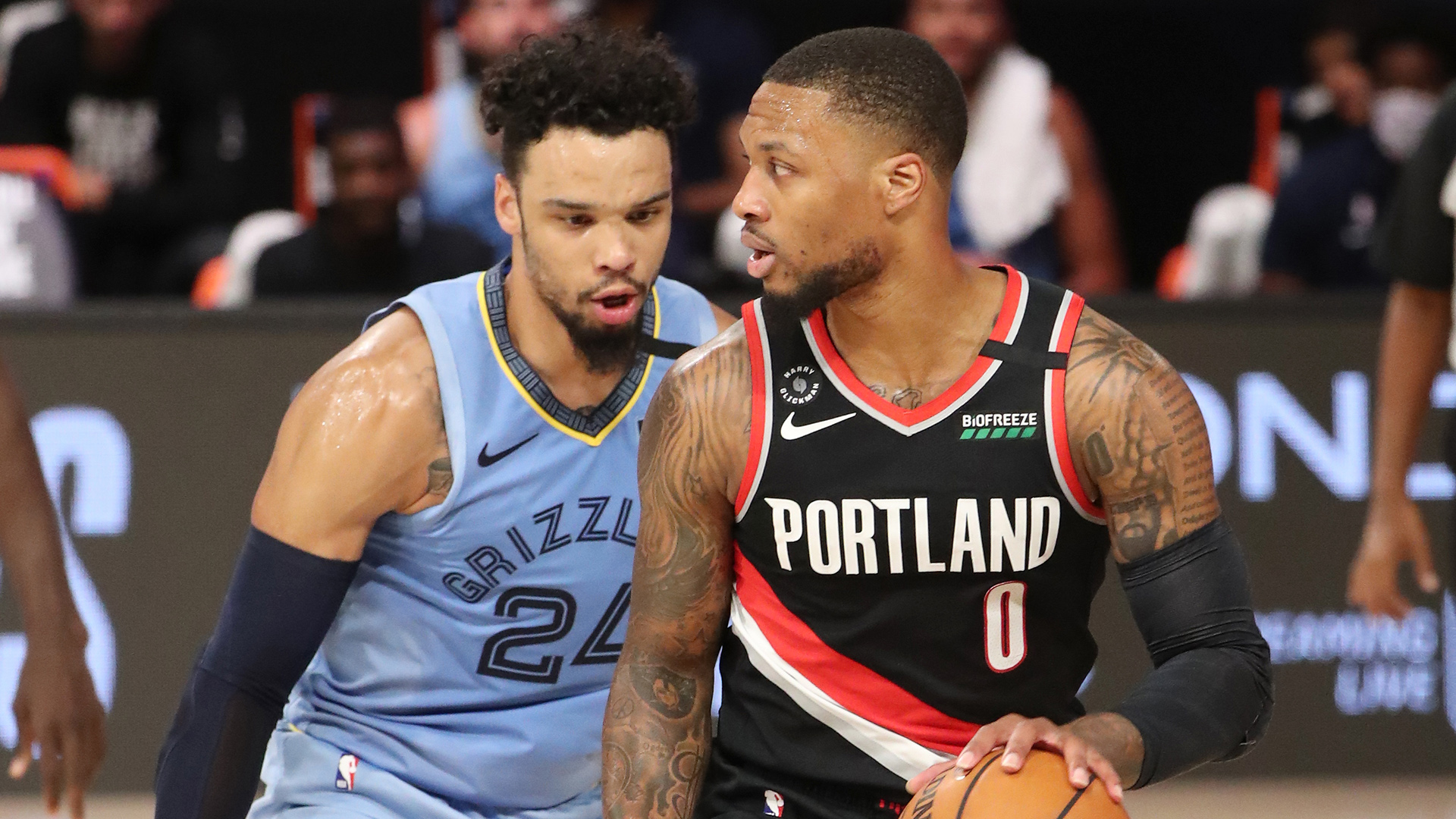 Blazers Battle Grizzlies In West Play-In Game