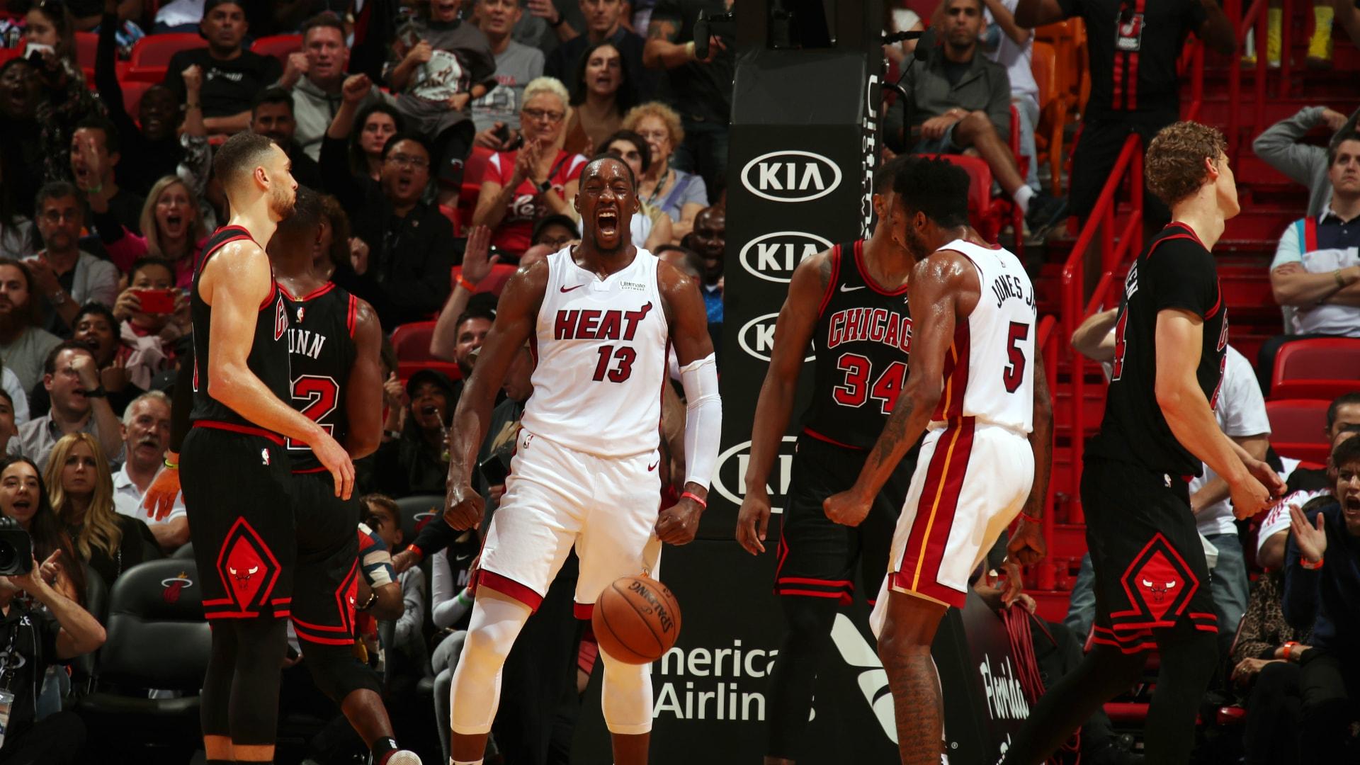 Bulls @ Heat