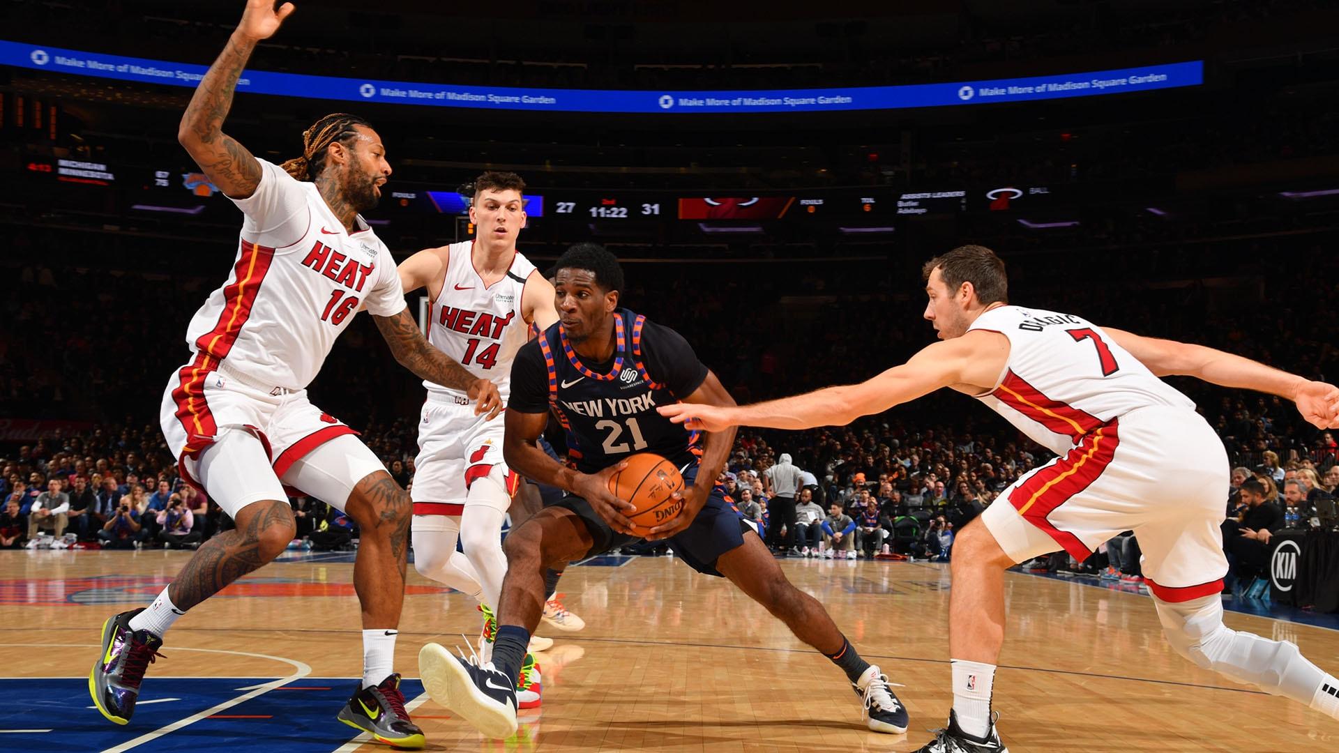 Heat @ Knicks