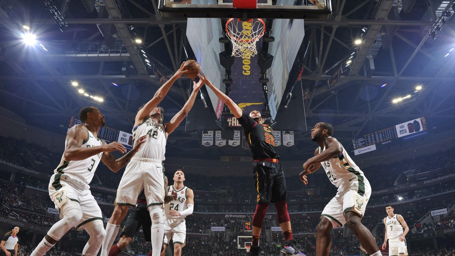 Bucks @ Cavaliers
