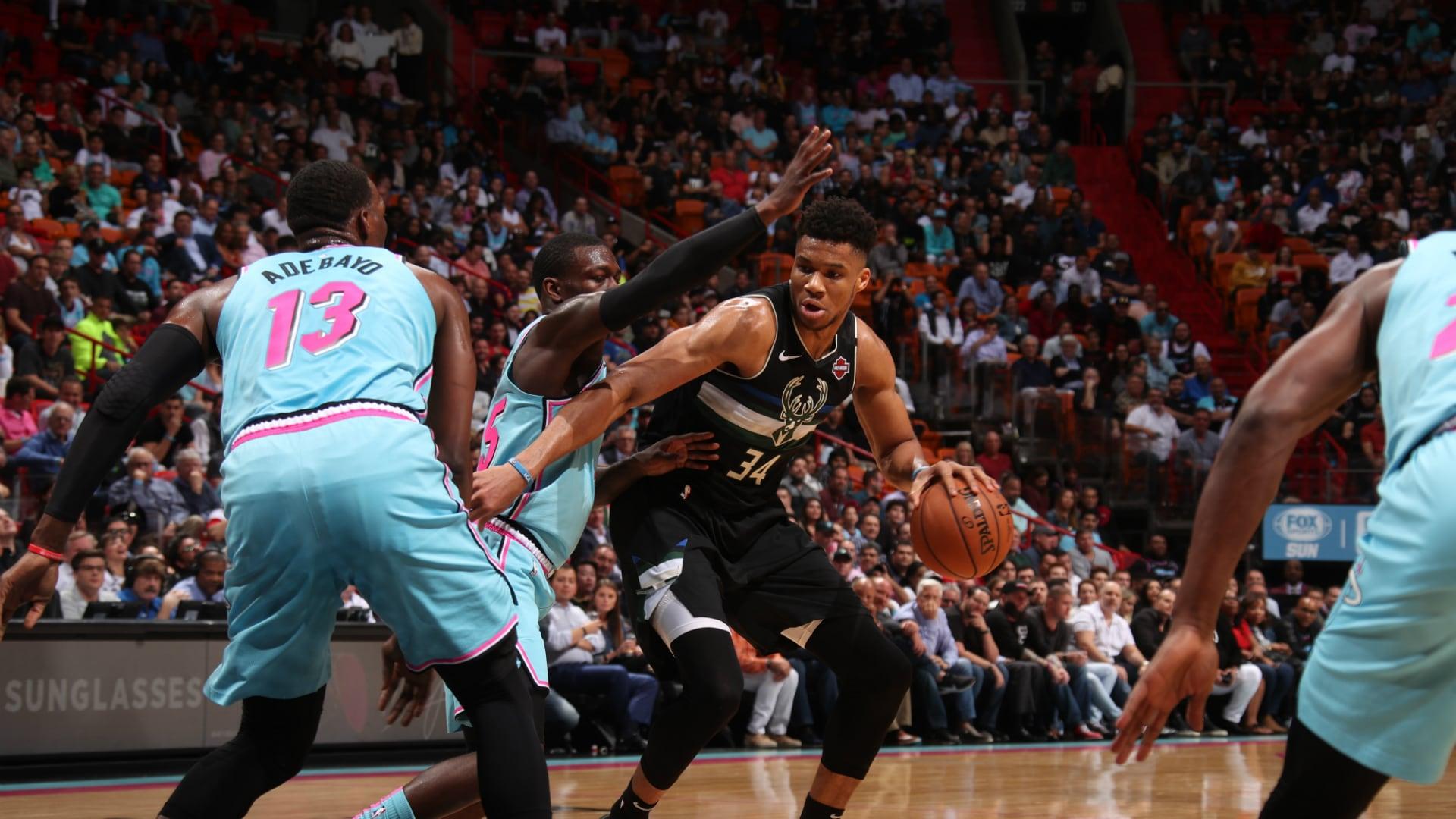 Bucks @ Heat