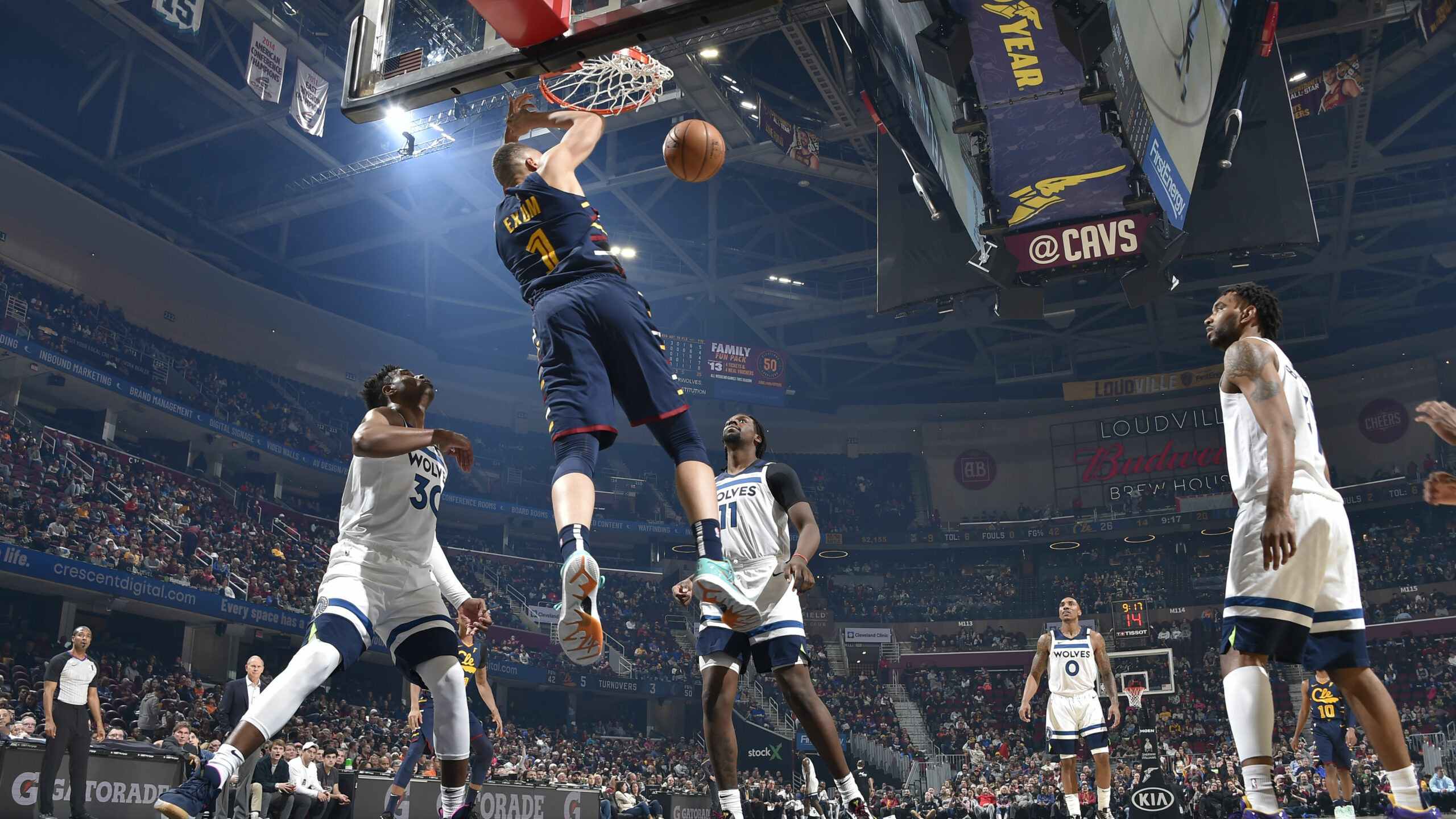 Timberwolves @ Cavaliers