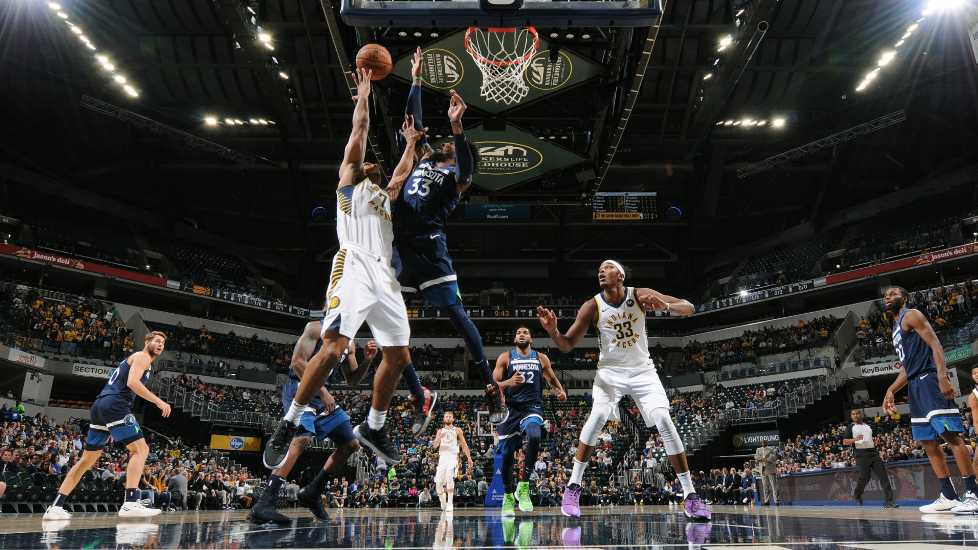 Timberwolves @ Pacers