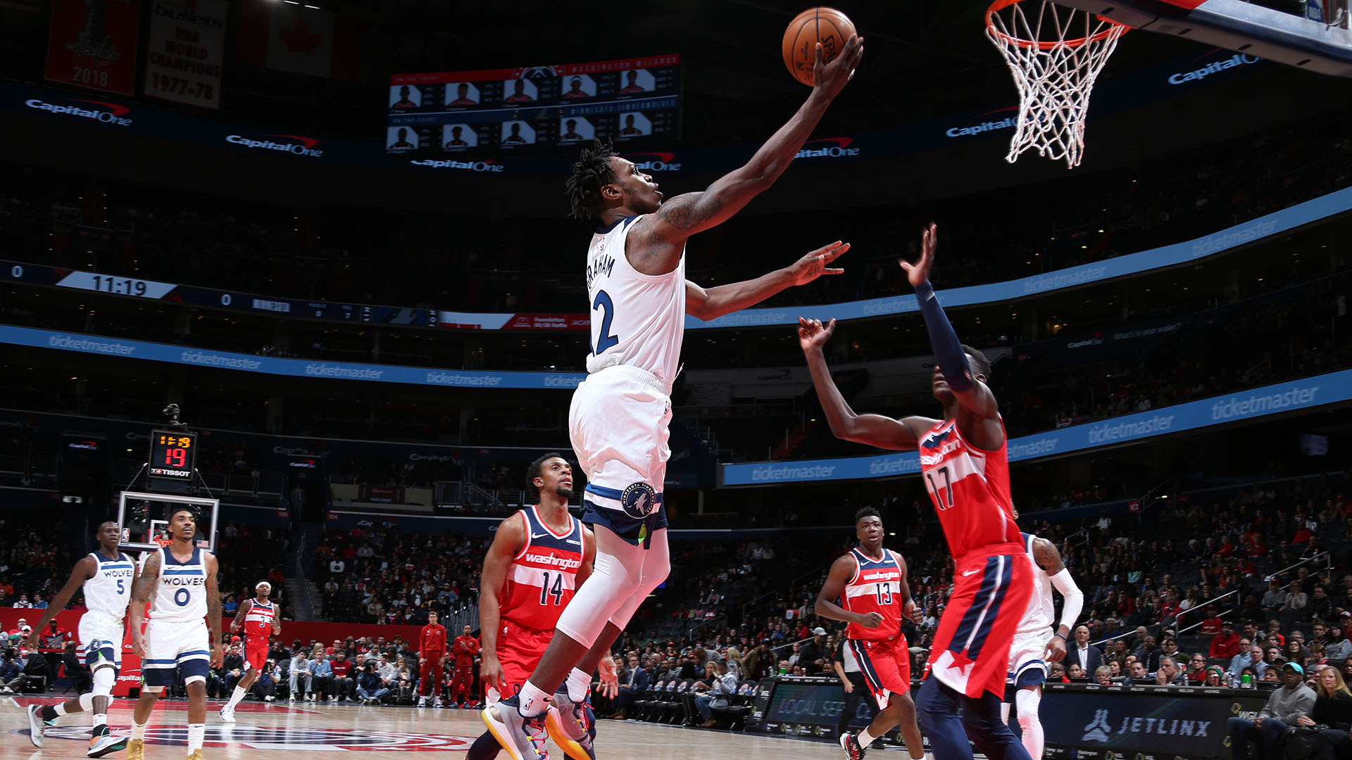 Timberwolves @ Wizards