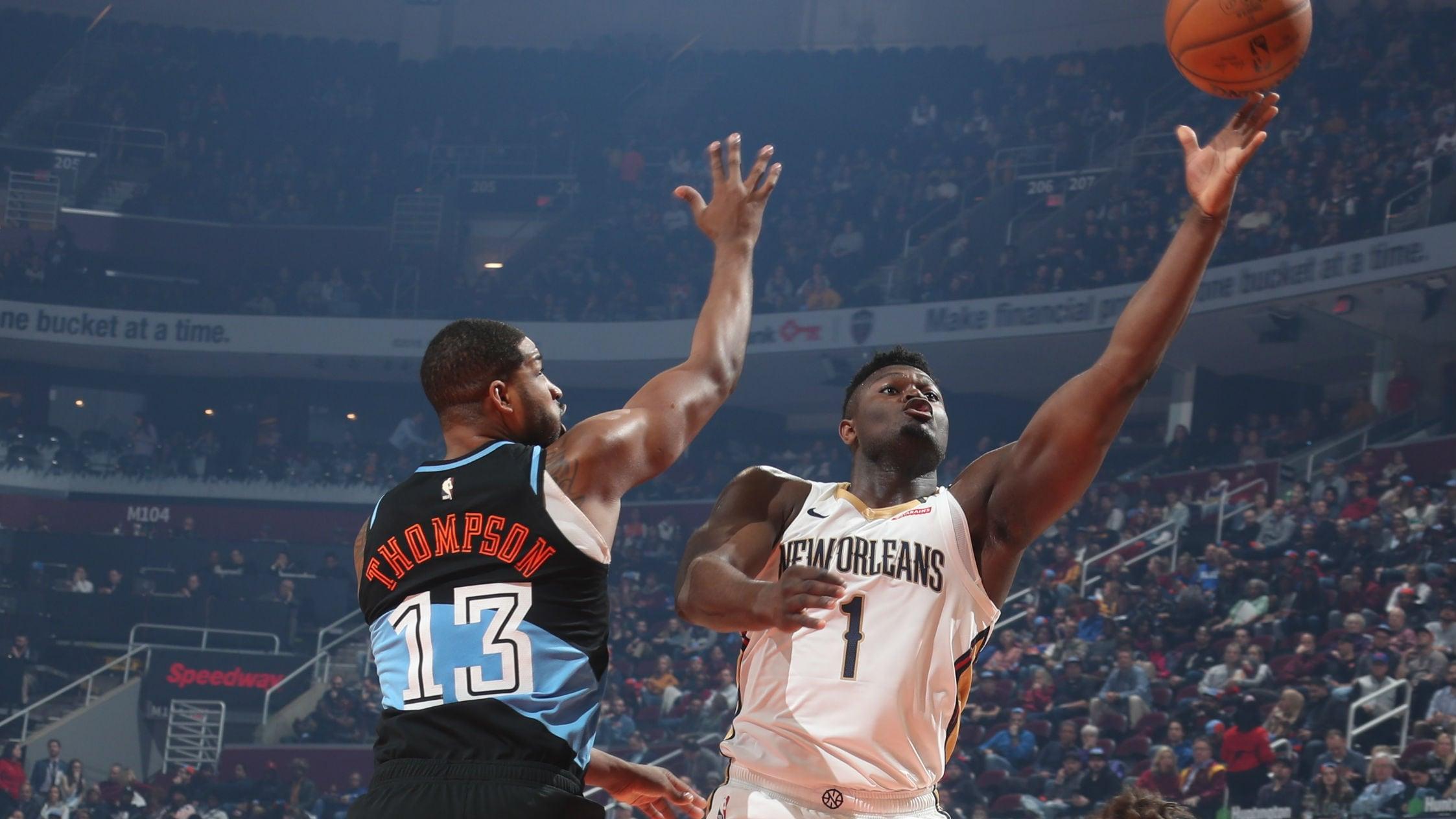 Pelicans @ Cavaliers