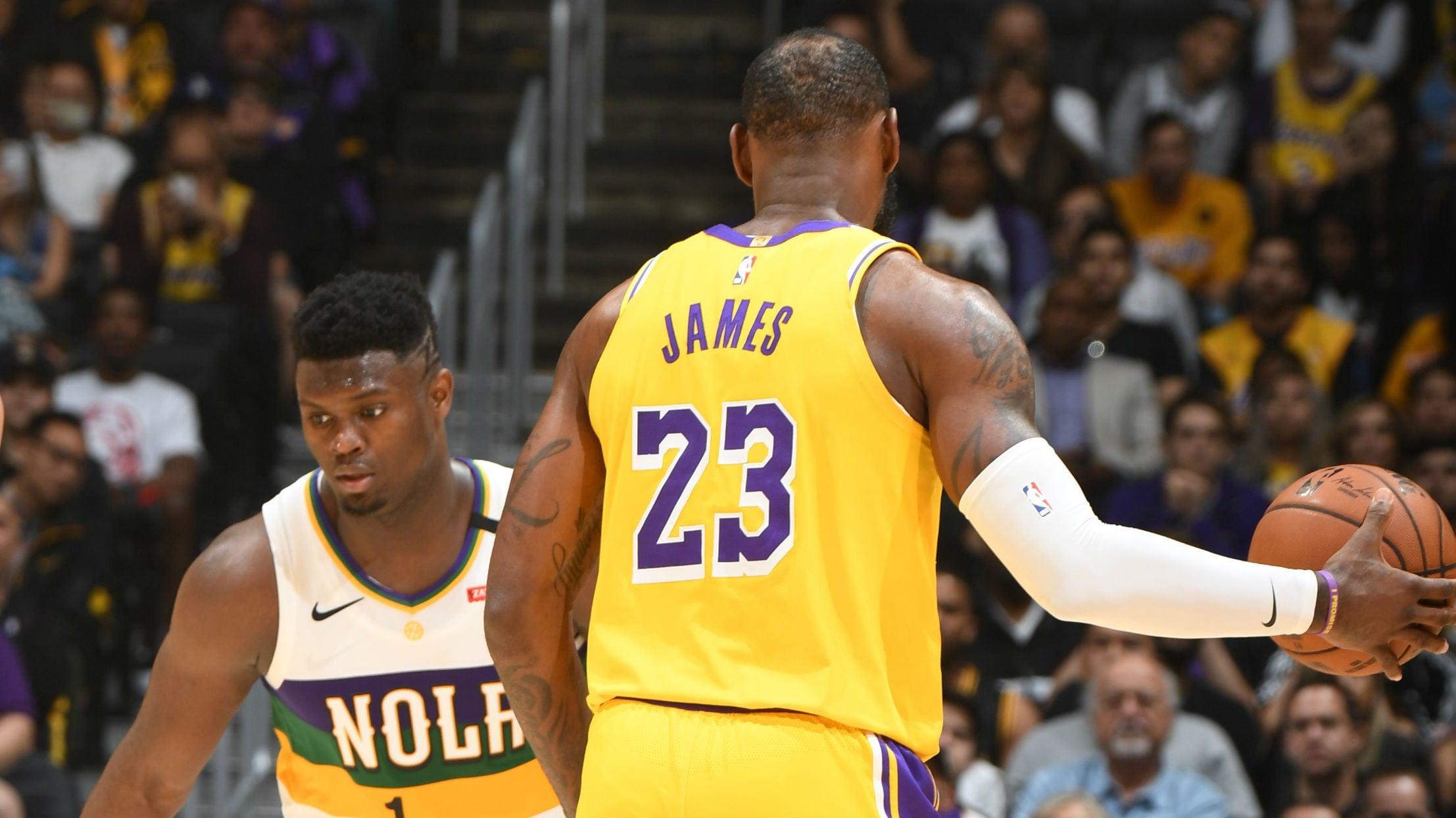 Pelicans @ Lakers