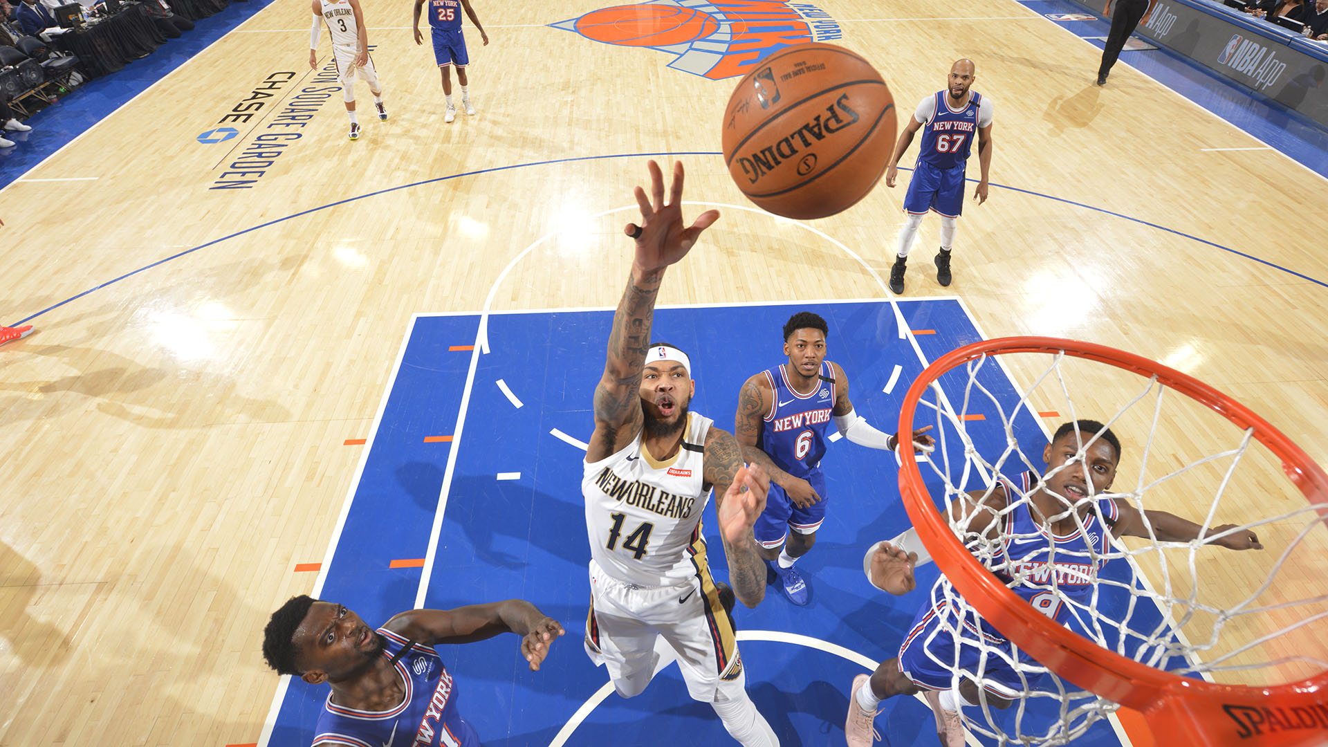 Pelicans @ Knicks