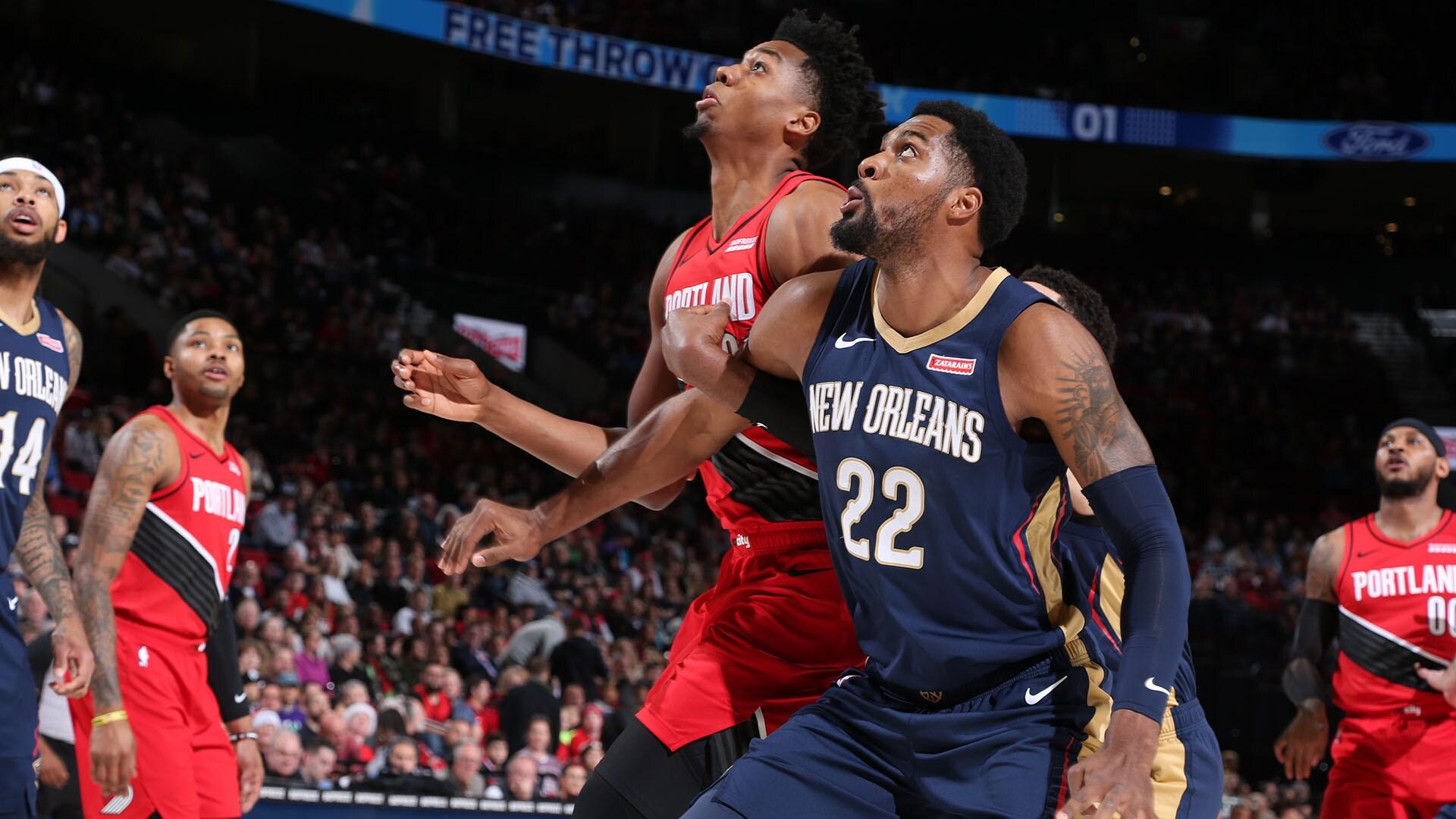 Pelicans @ Trail Blazers