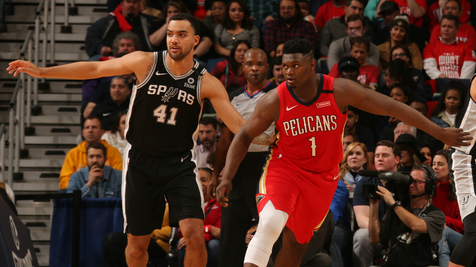 Spurs @ Pelicans