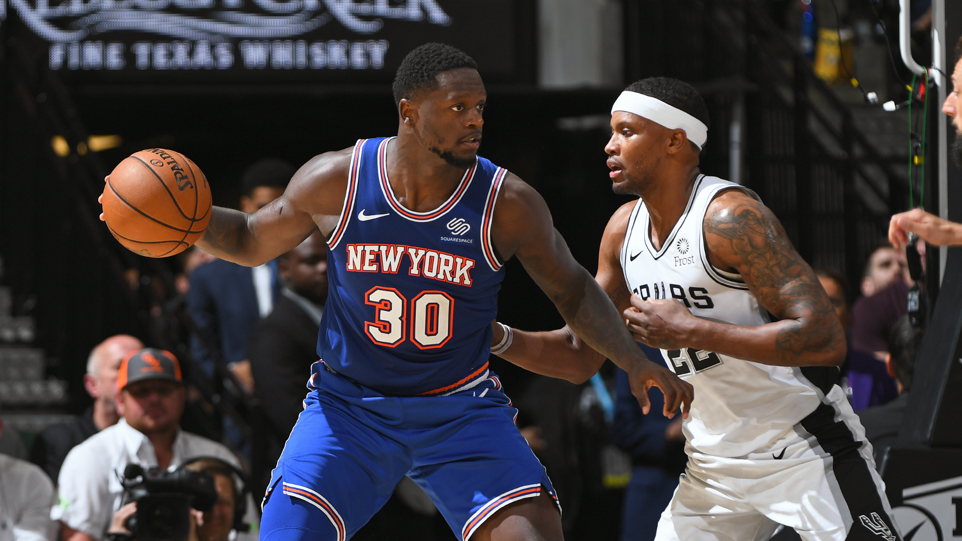 Knicks @ Spurs