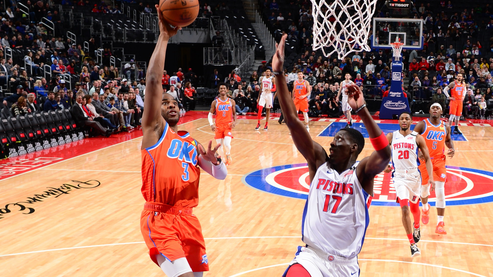 Thunder @ Pistons