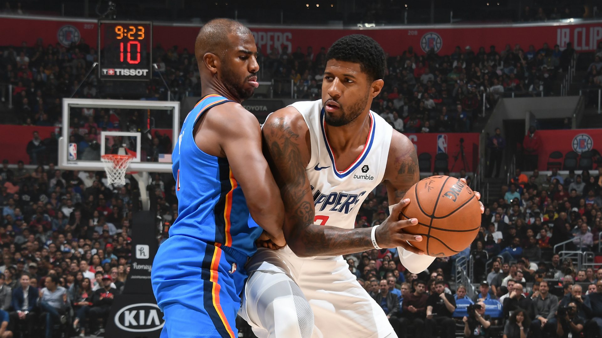 Thunder @ Clippers